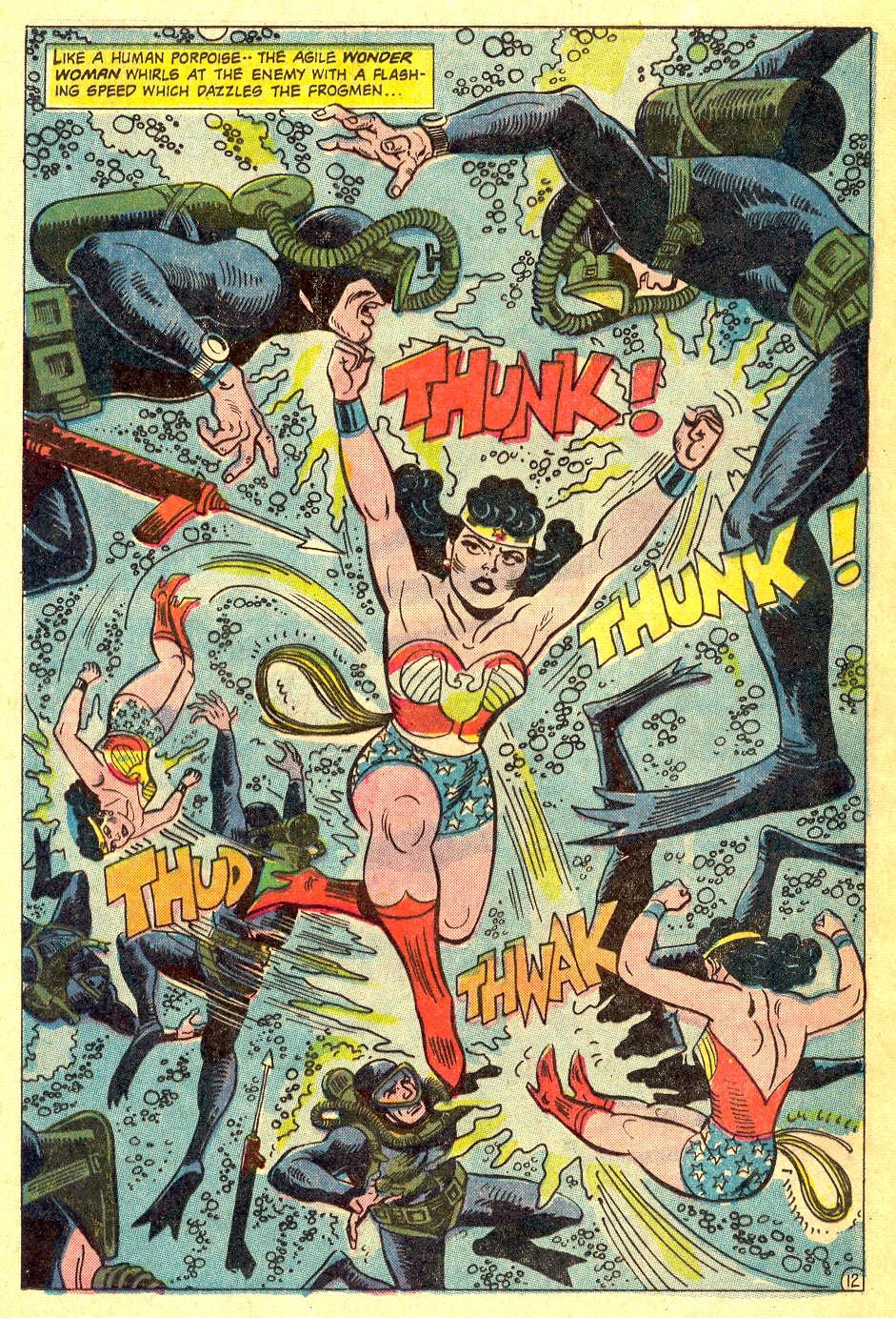 Read online Wonder Woman (1942) comic -  Issue #164 - 17