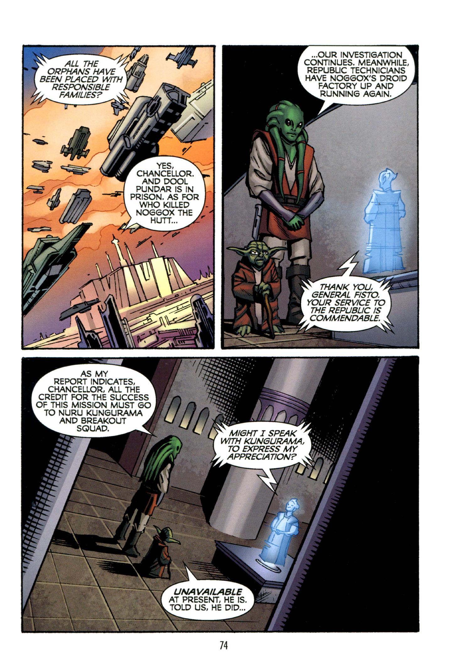 Read online Star Wars: The Clone Wars - Strange Allies comic -  Issue # Full - 75