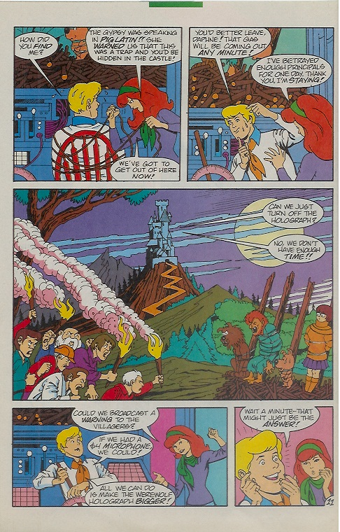 Read online Scooby-Doo (1995) comic -  Issue #9 - 16