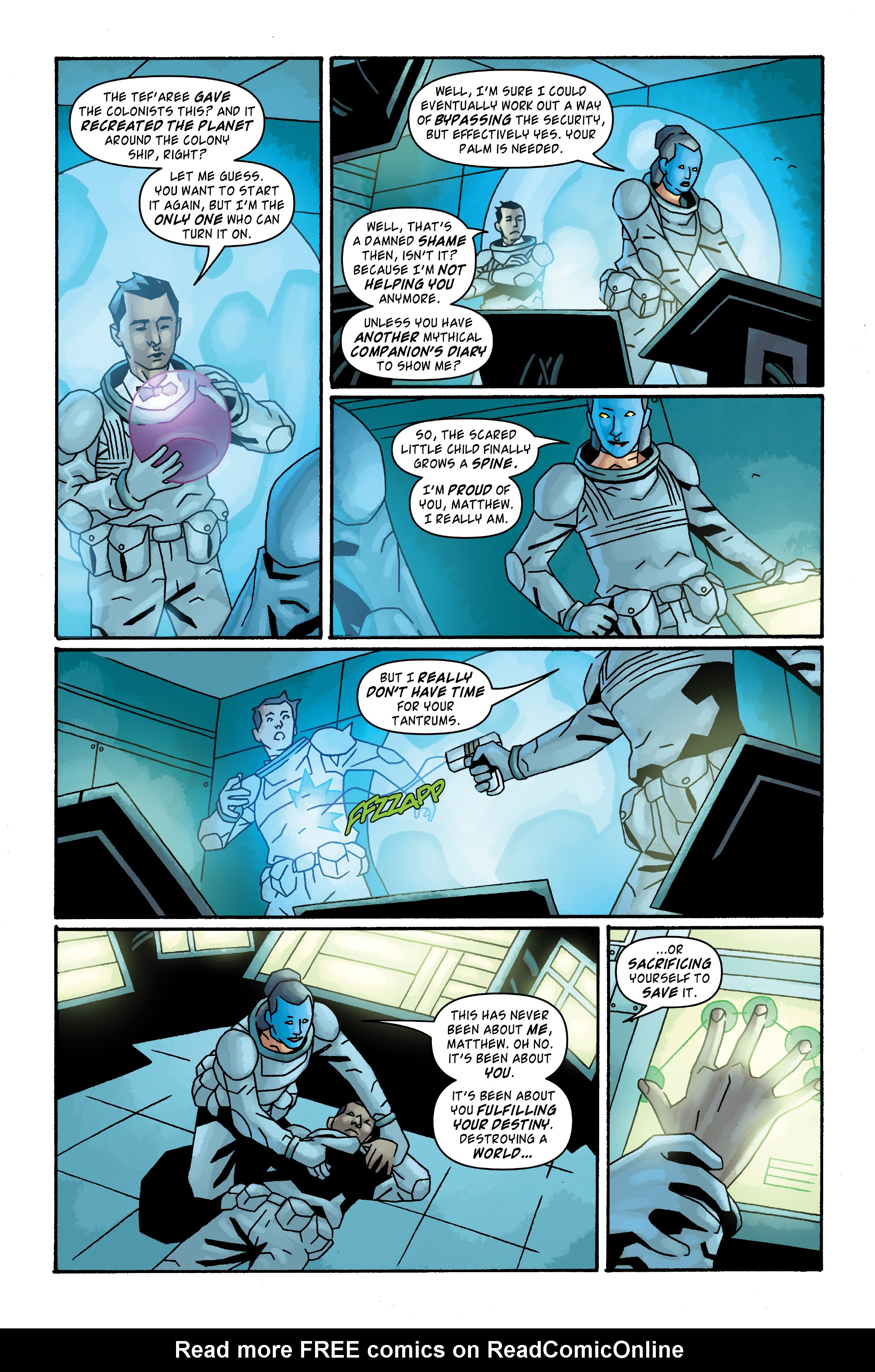 Read online Doctor Who: The Tenth Doctor Archives comic -  Issue #33 - 15