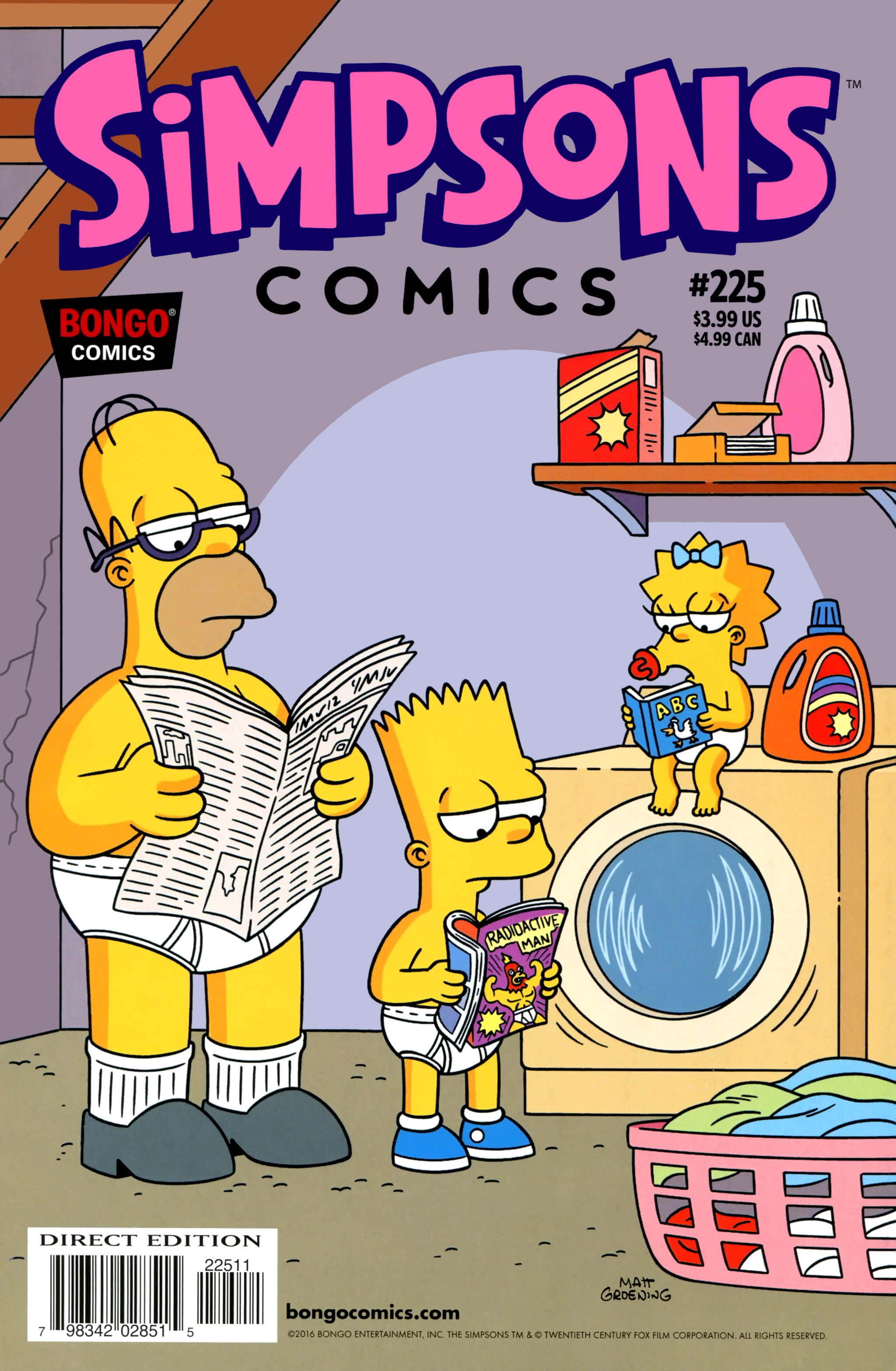 Simpsons Comics 225 Page 1