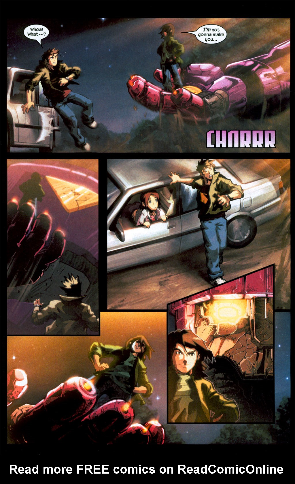 Read online Sentinel (2006) comic -  Issue #1 - 5