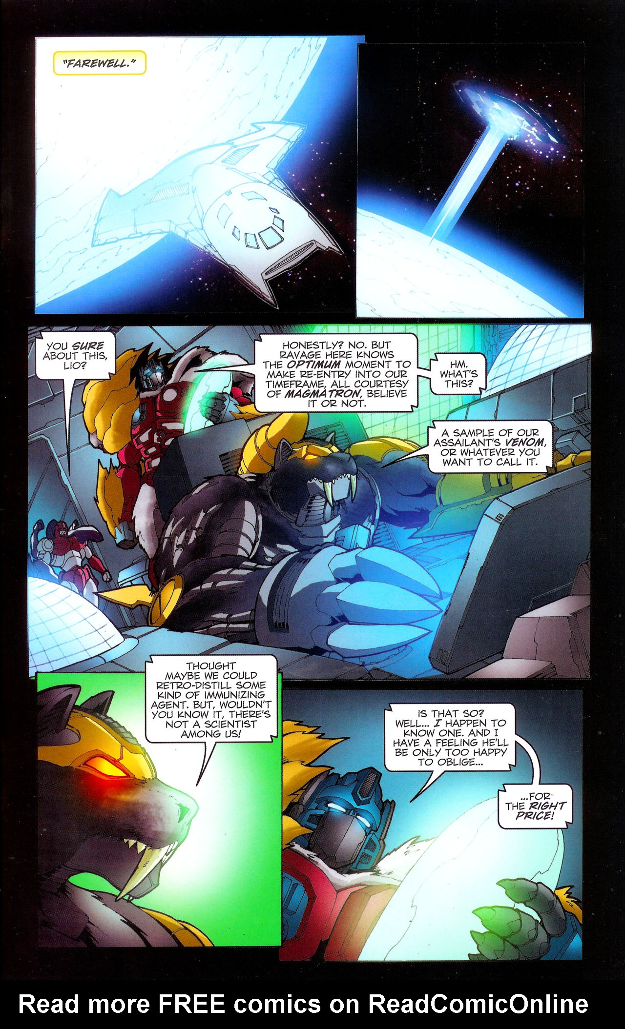 Read online Transformers: Beast Wars: The Ascending comic -  Issue #3 - 22