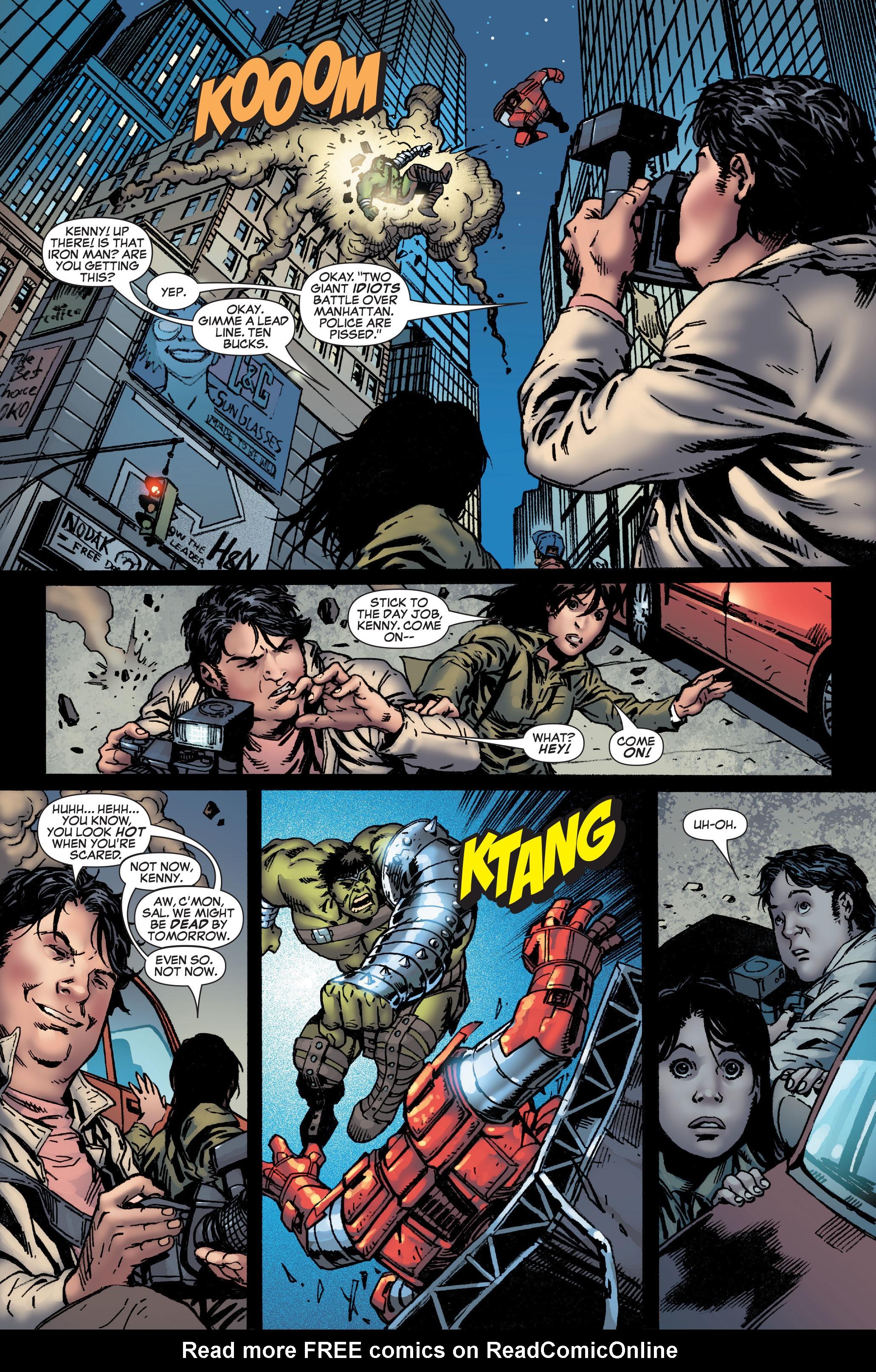 Read online World War Hulk: Front Line comic -  Issue #1 - 23