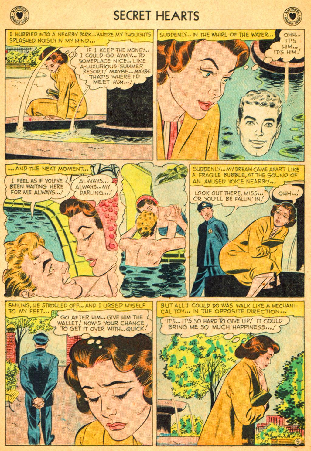 Read online Secret Hearts comic -  Issue #51 - 22