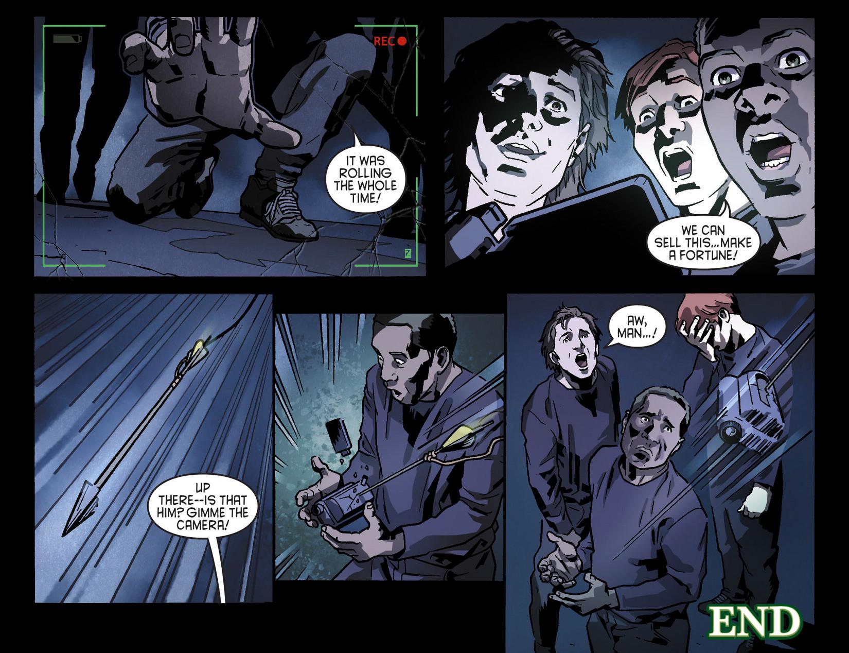 Read online Arrow [II] comic -  Issue #8 - 22