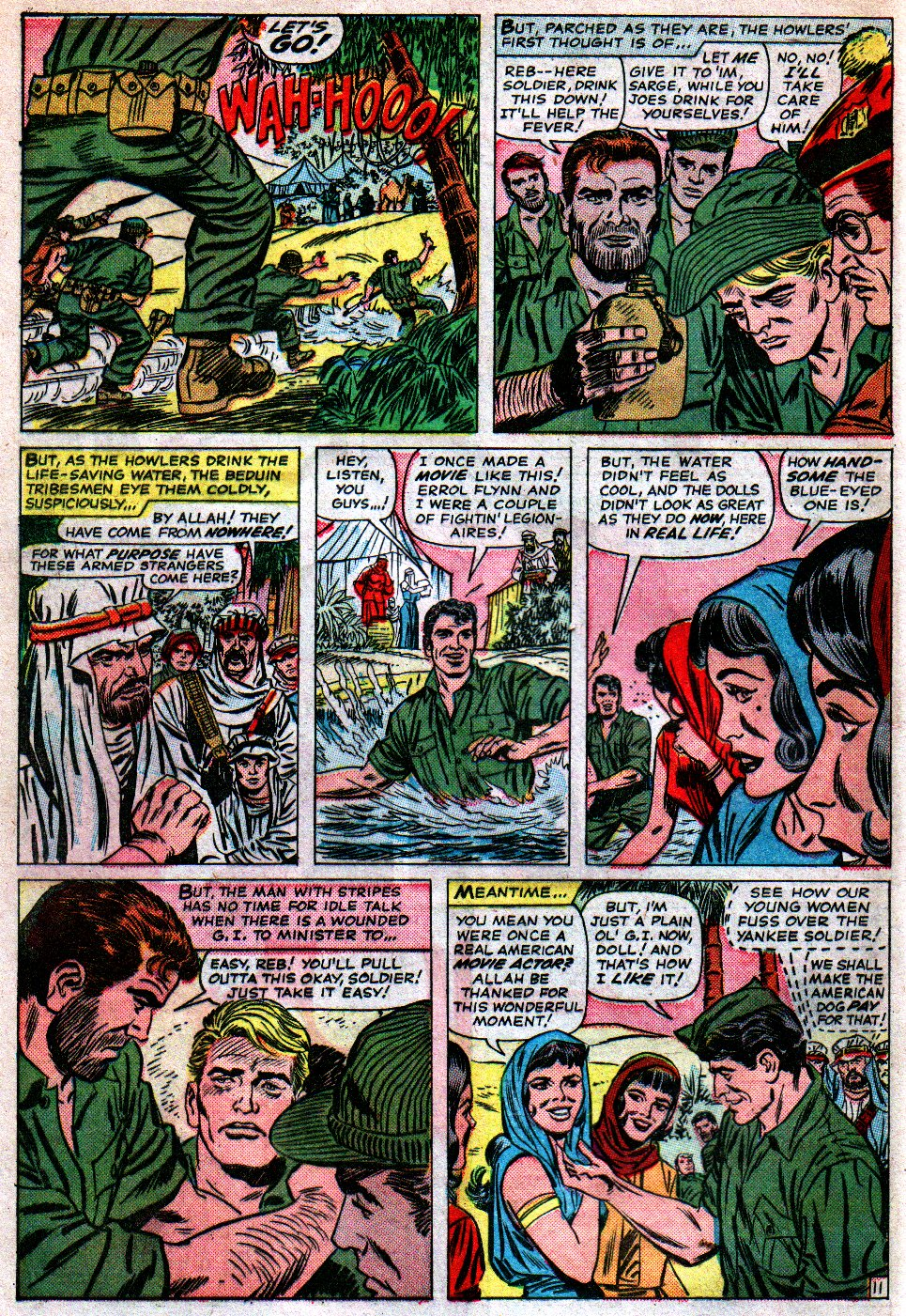 Read online Sgt. Fury comic -  Issue #16 - 16