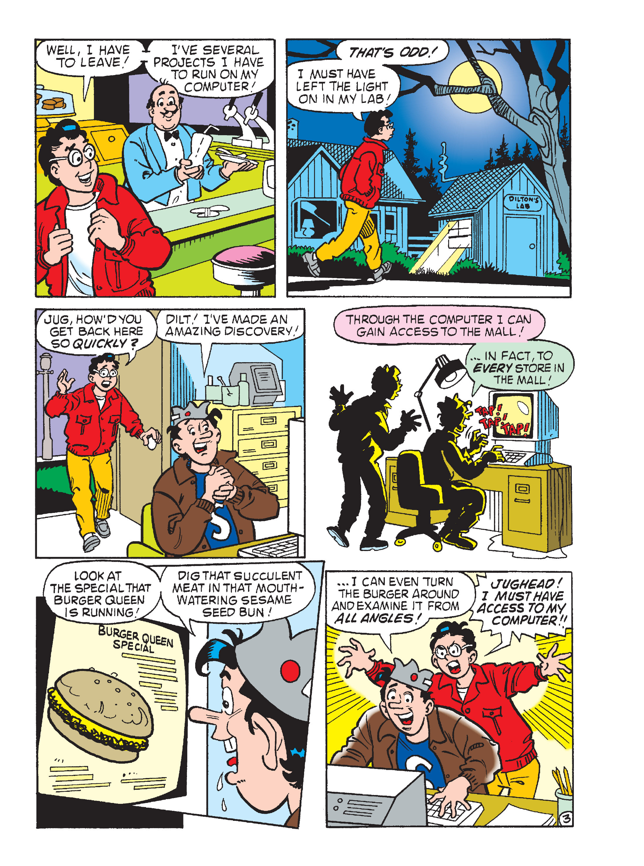 Read online Archie's Funhouse Double Digest comic -  Issue #17 - 140