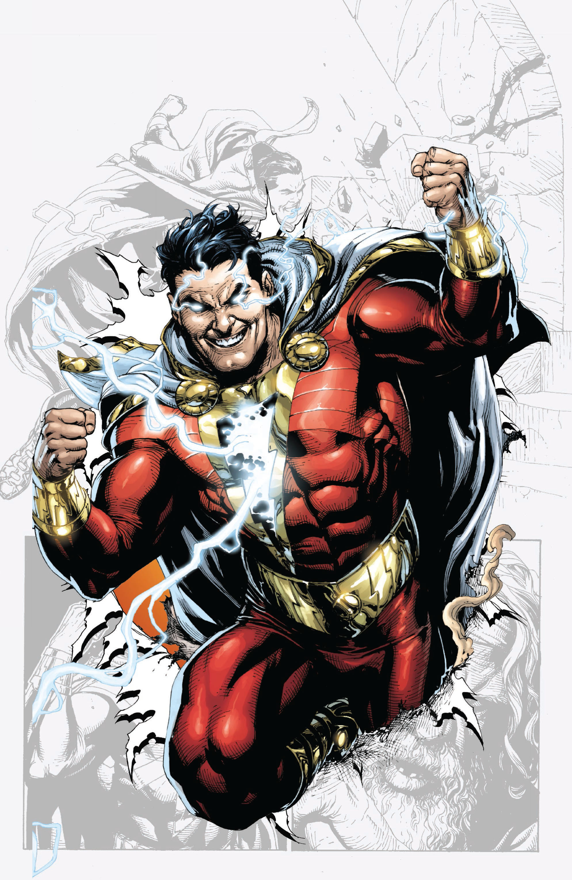Read online Shazam! (2013) comic -  Issue #1 - 6