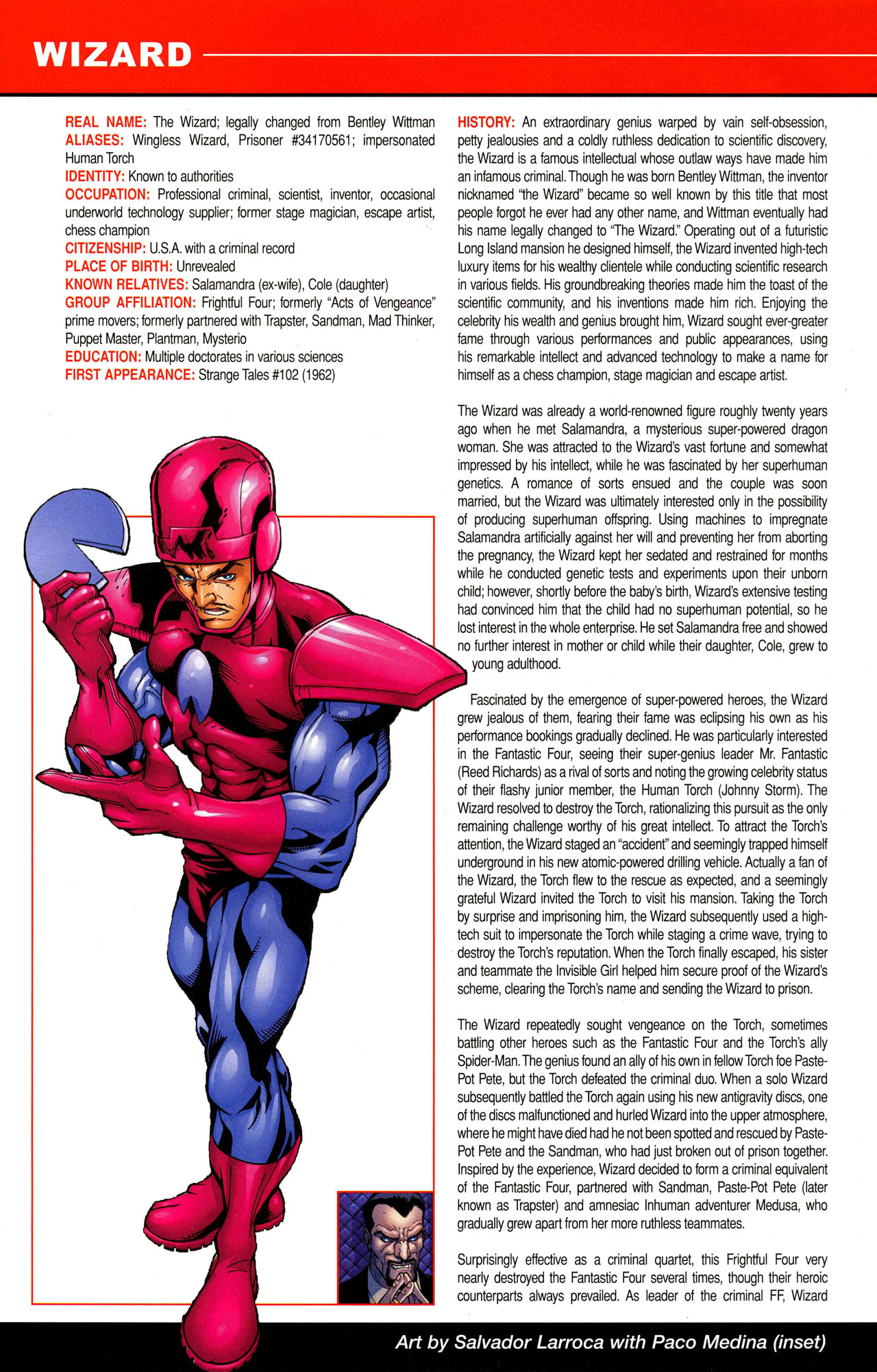 Read online All-New Official Handbook of the Marvel Universe A to Z comic -  Issue #12 - 44