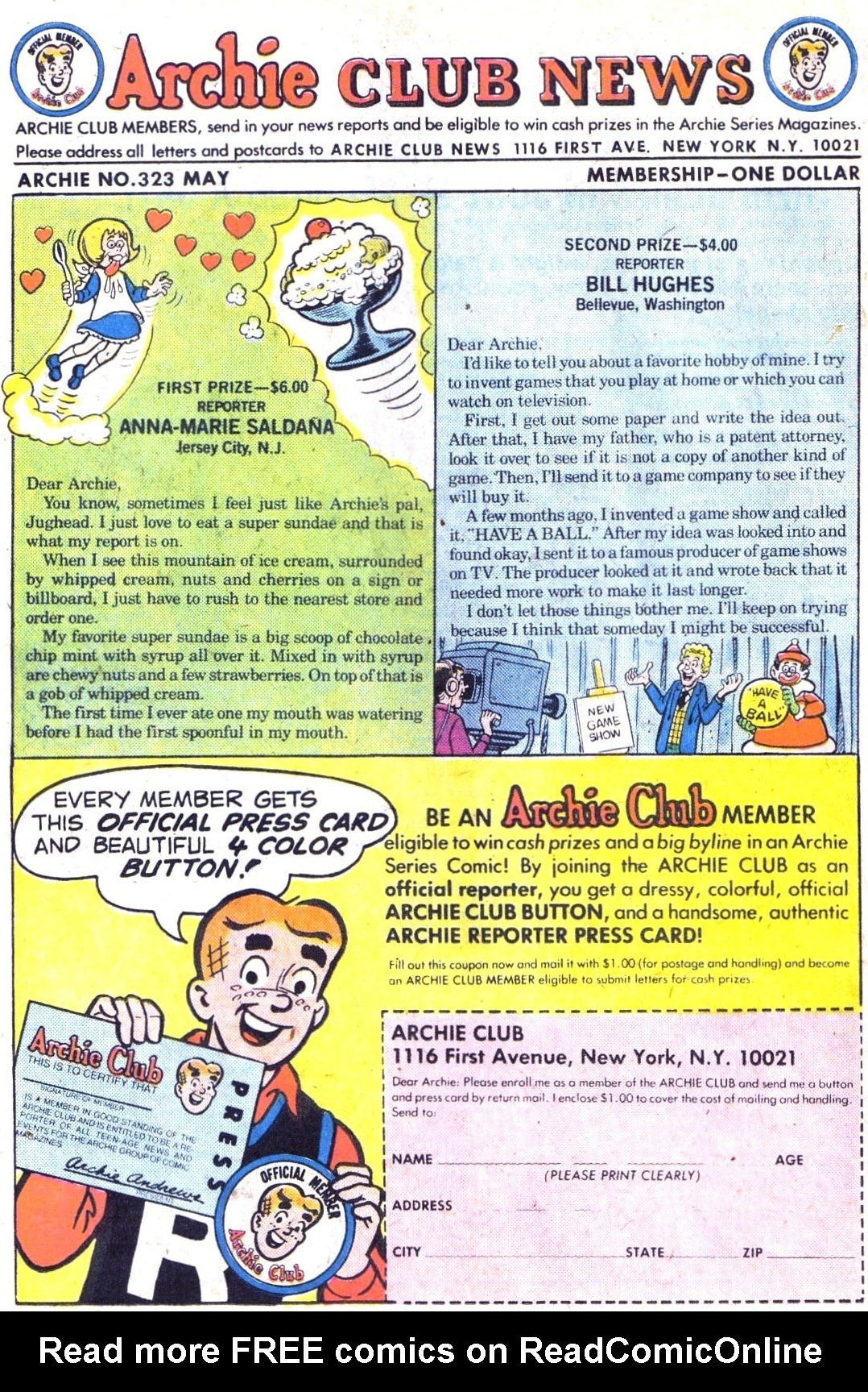 Read online Archie (1960) comic -  Issue #323 - 26