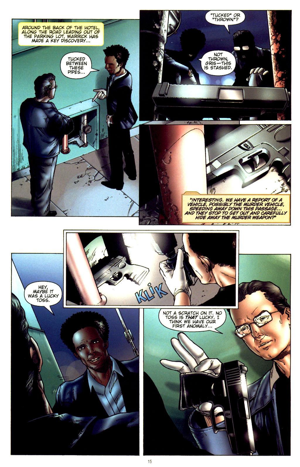 Read online CSI: Crime Scene Investigation: Bad Rap comic -  Issue #2 - 16