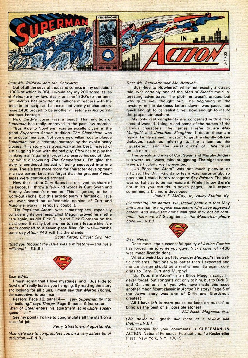Read online Action Comics (1938) comic -  Issue #434 - 32