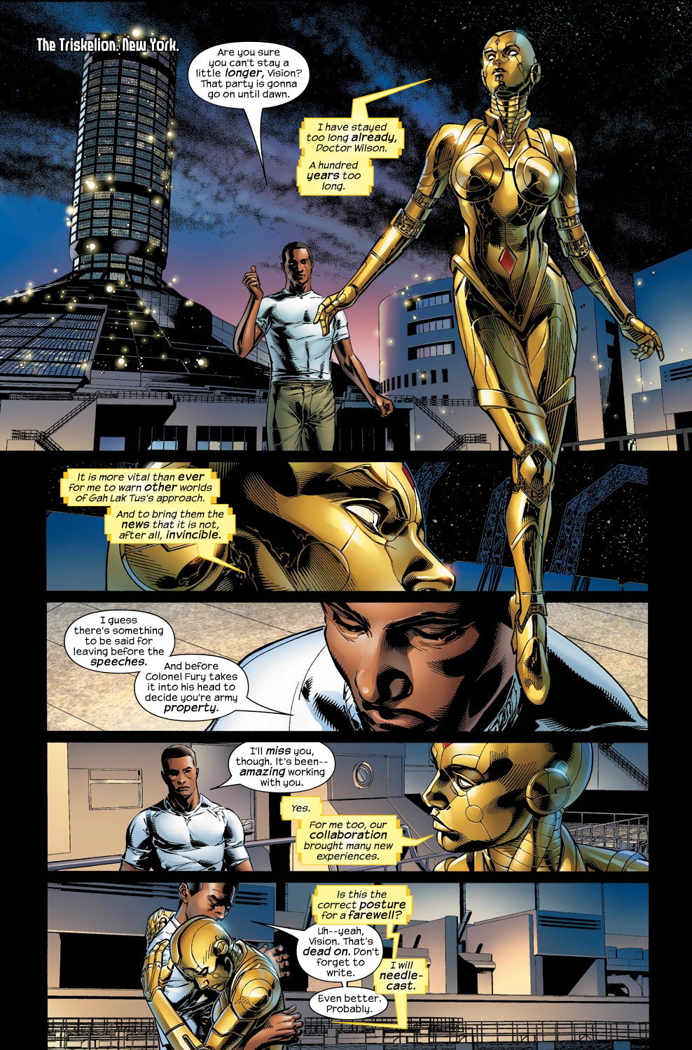 Read online Ultimate Vision comic -  Issue #1 - 6