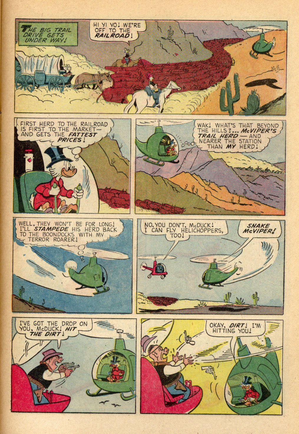 Read online Uncle Scrooge (1953) comic -  Issue #69 - 21