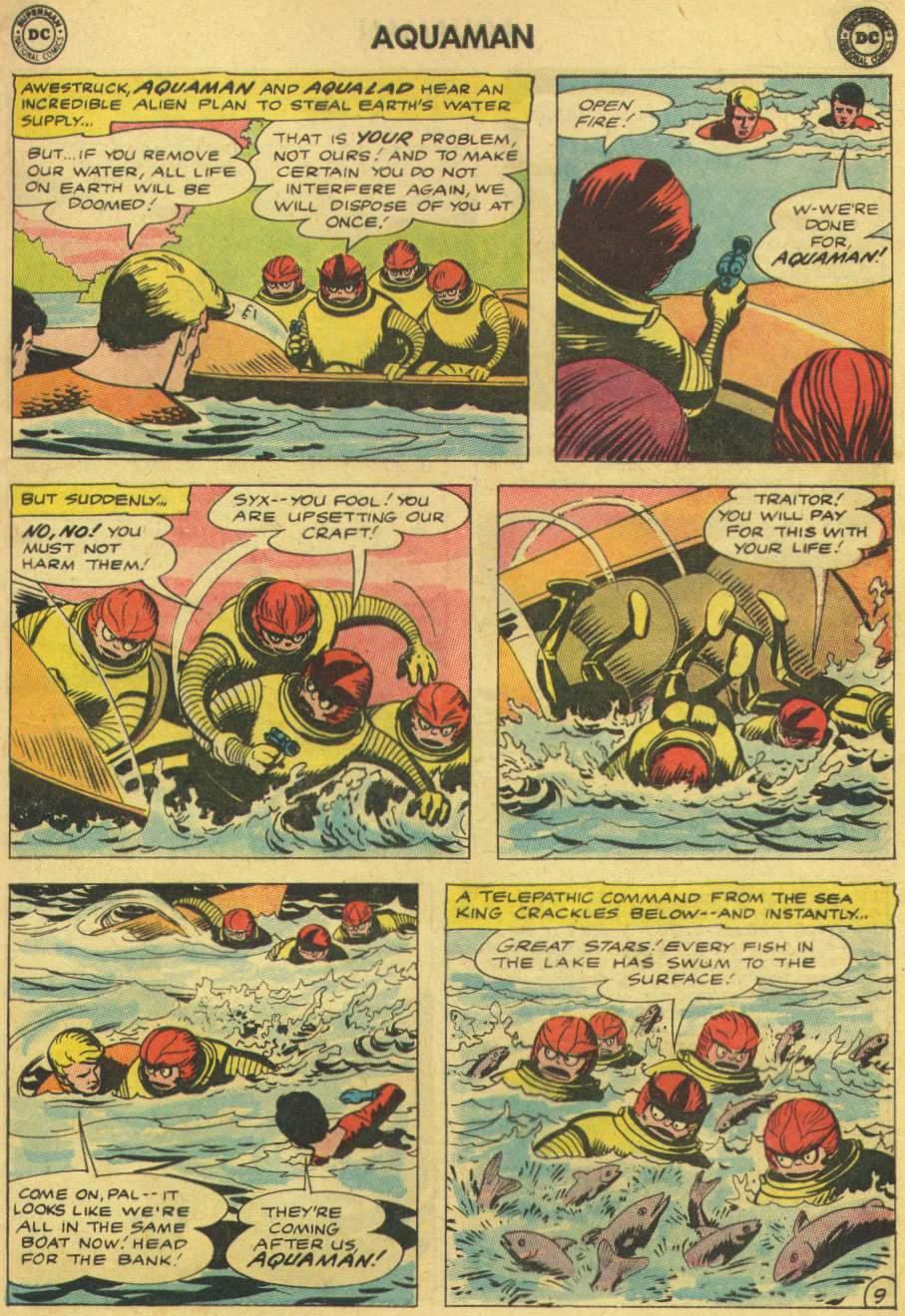 Read online Aquaman (1962) comic -  Issue #8 - 13