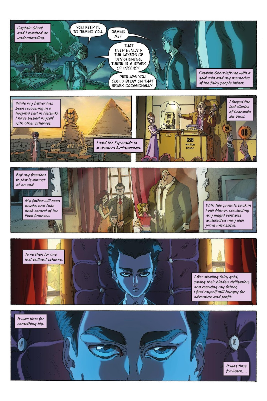 Artemis Fowl: The Eternity Code issue TPB - Page 7