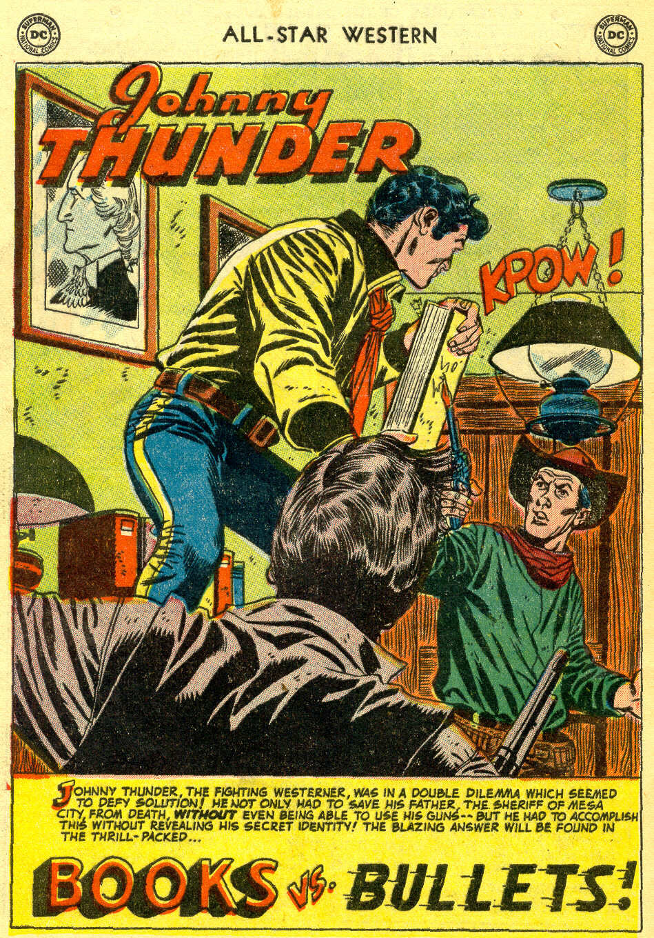 Read online All-Star Western (1951) comic -  Issue #78 - 28