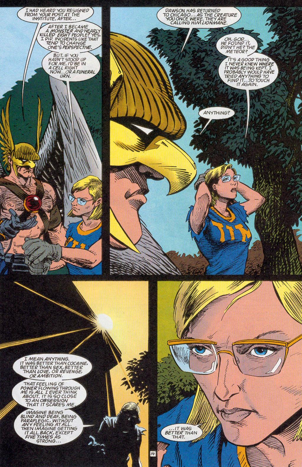 Hawkman (1993) Issue #24 #27 - English 16