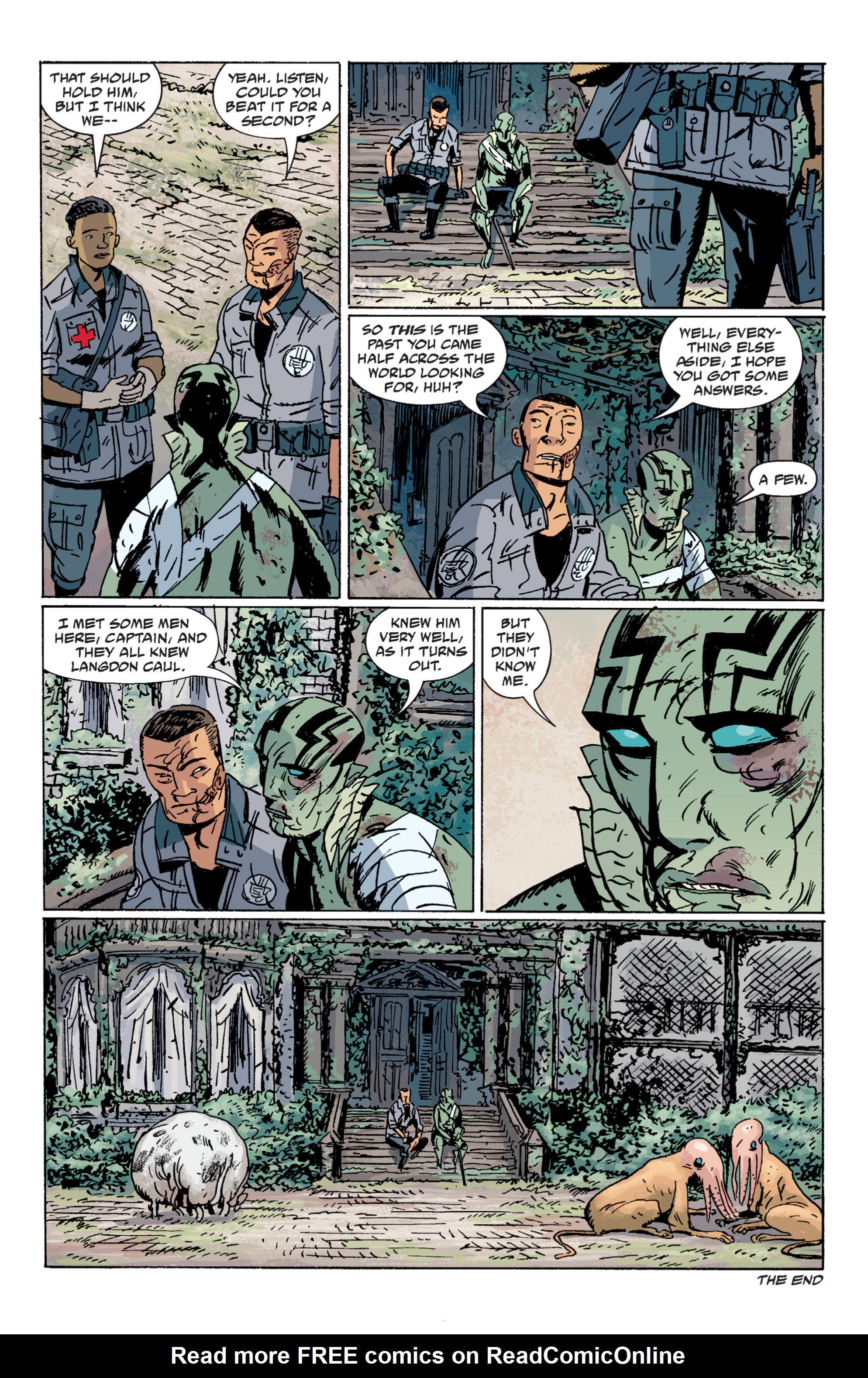 Read online B.P.R.D. (2003) comic -  Issue # TPB 7 - 137