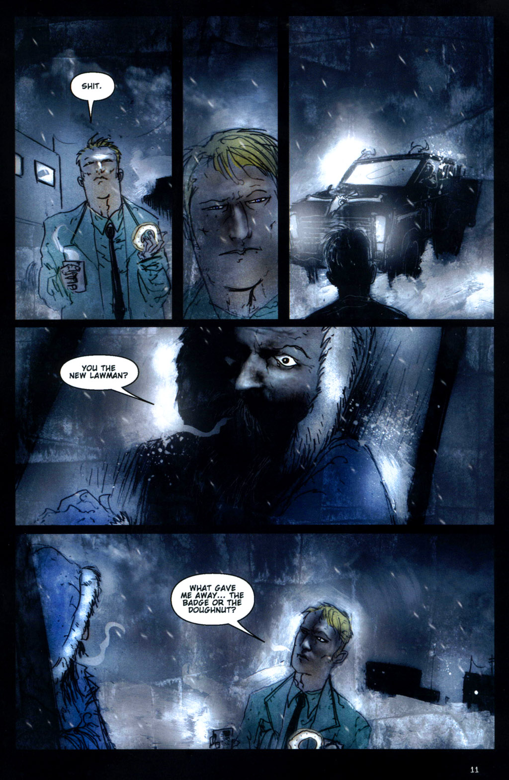 Read online 30 Days of Night: Return to Barrow comic -  Issue #1 - 13