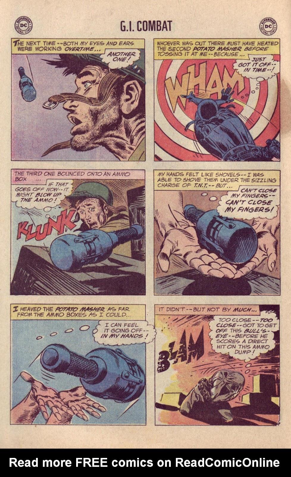 Comic G I  Combat (1952) issue 144