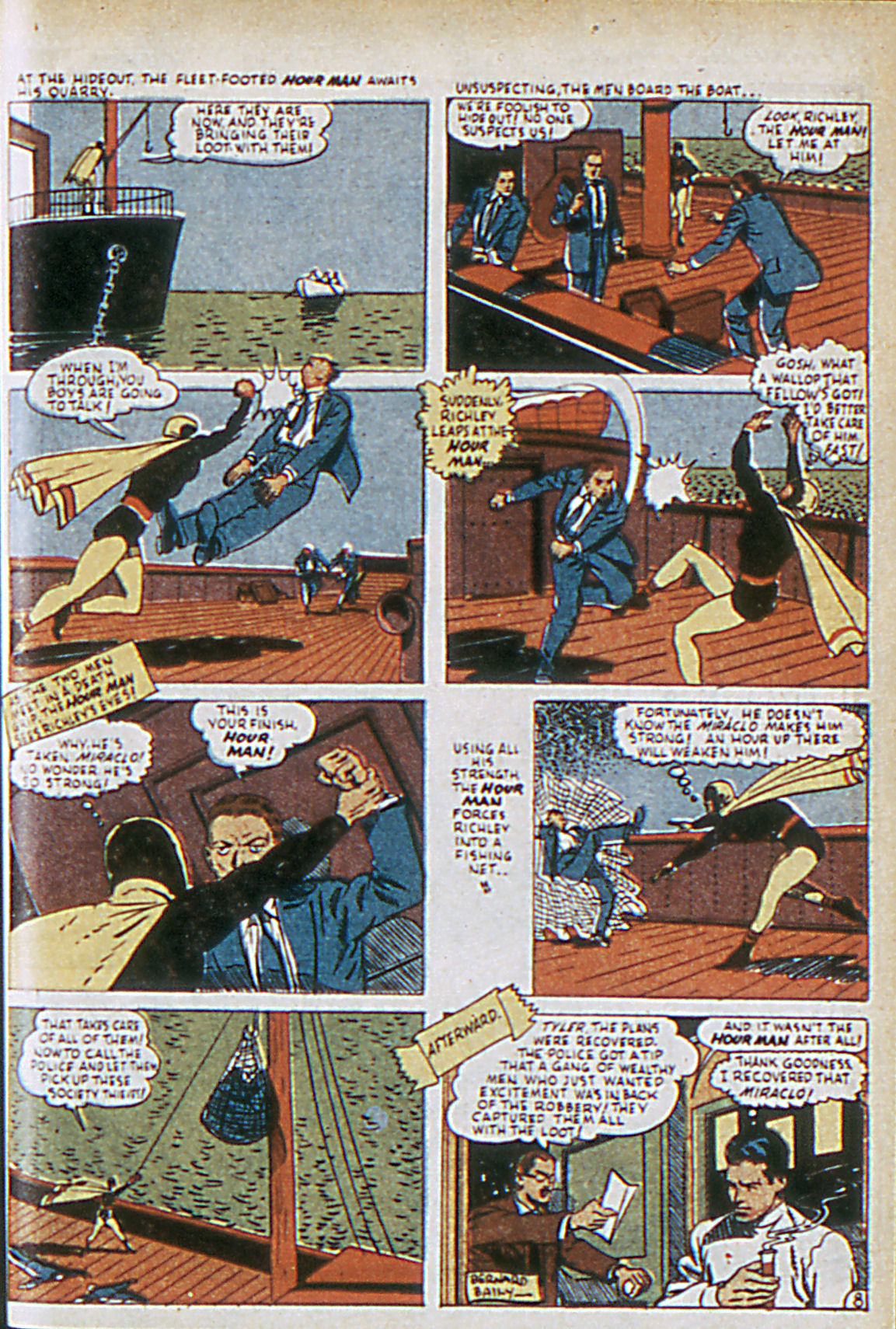 Read online Adventure Comics (1938) comic -  Issue #63 - 40
