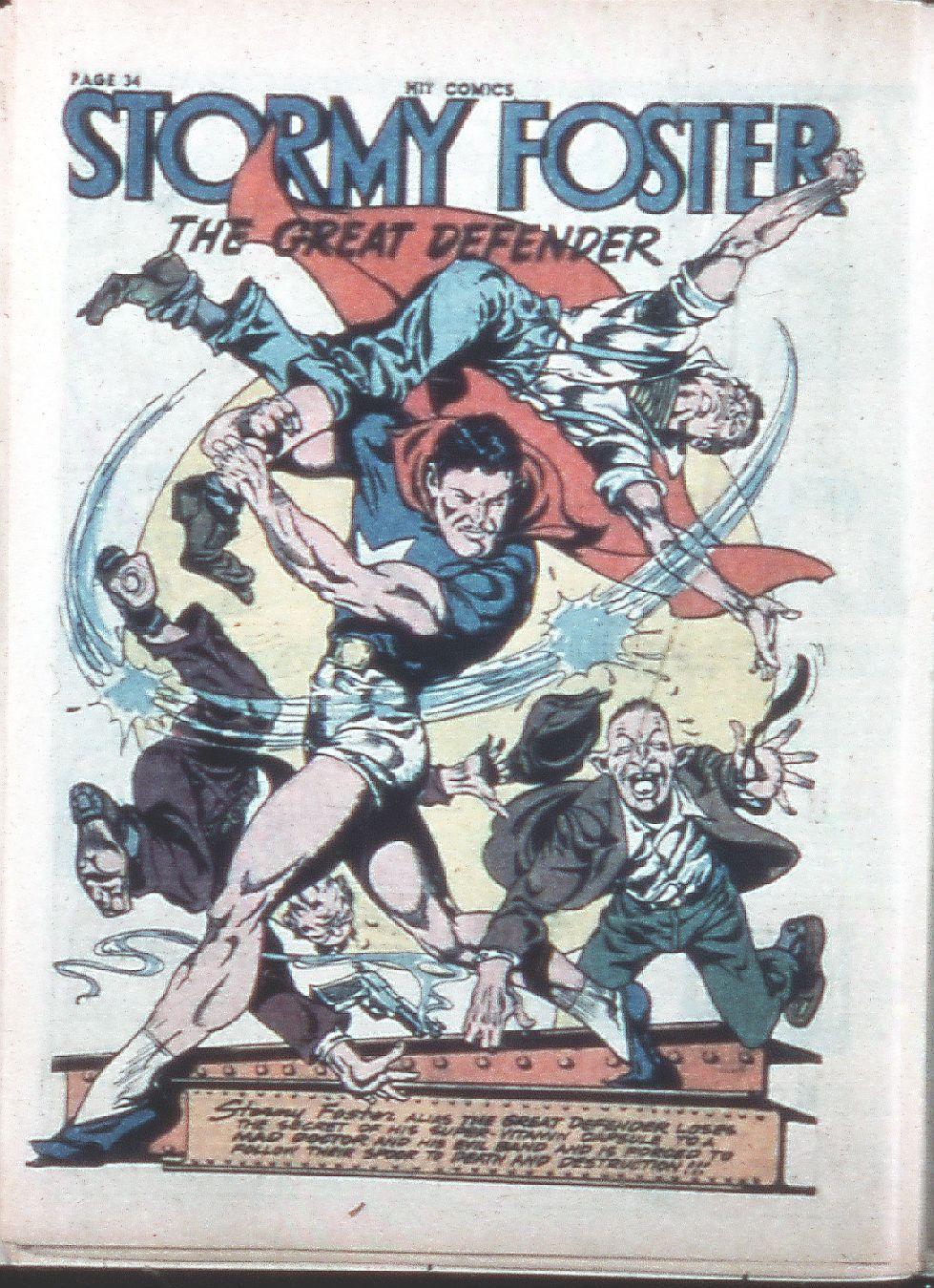 Read online Hit Comics comic -  Issue #26 - 35