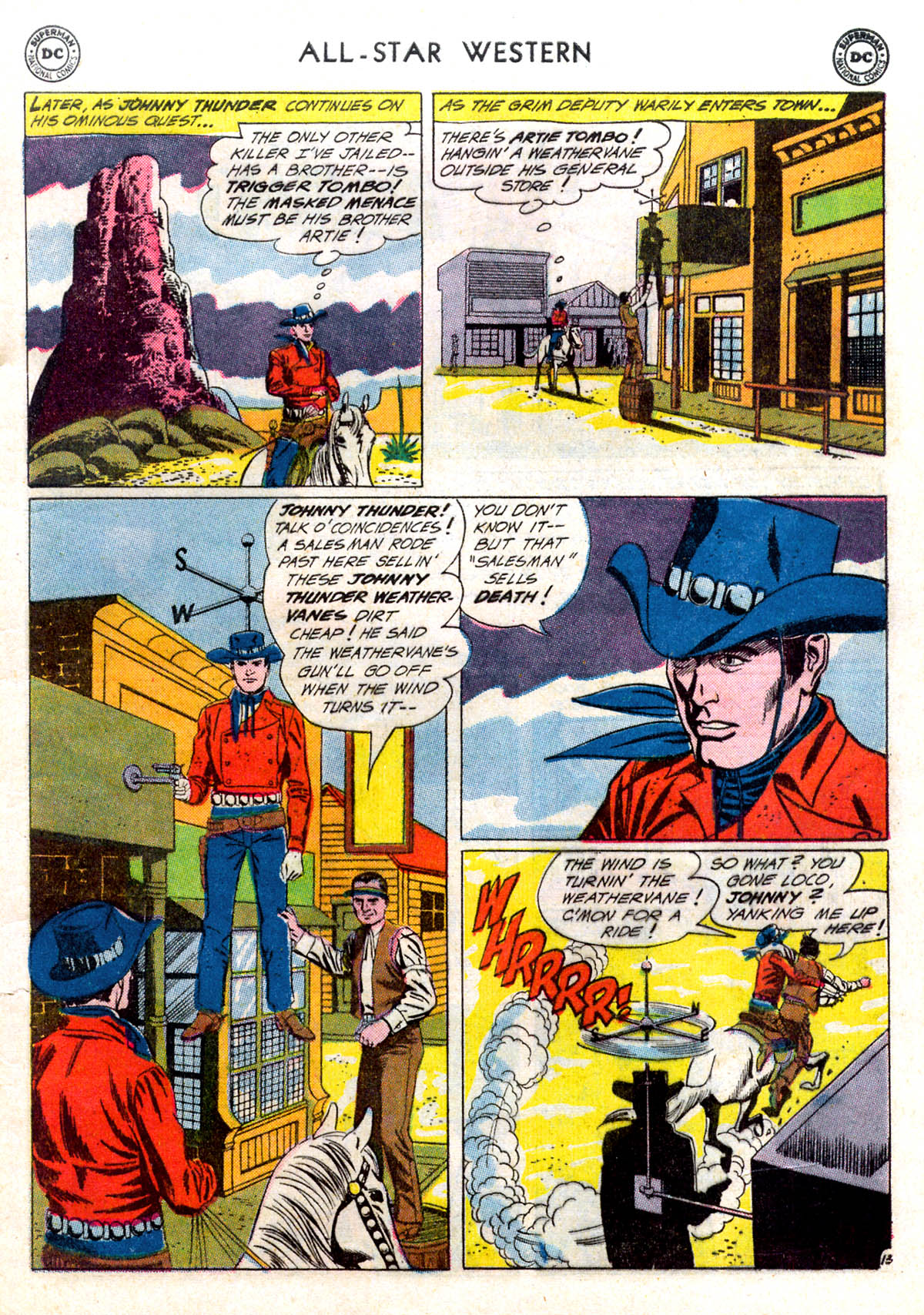 Read online All-Star Western (1951) comic -  Issue #116 - 17