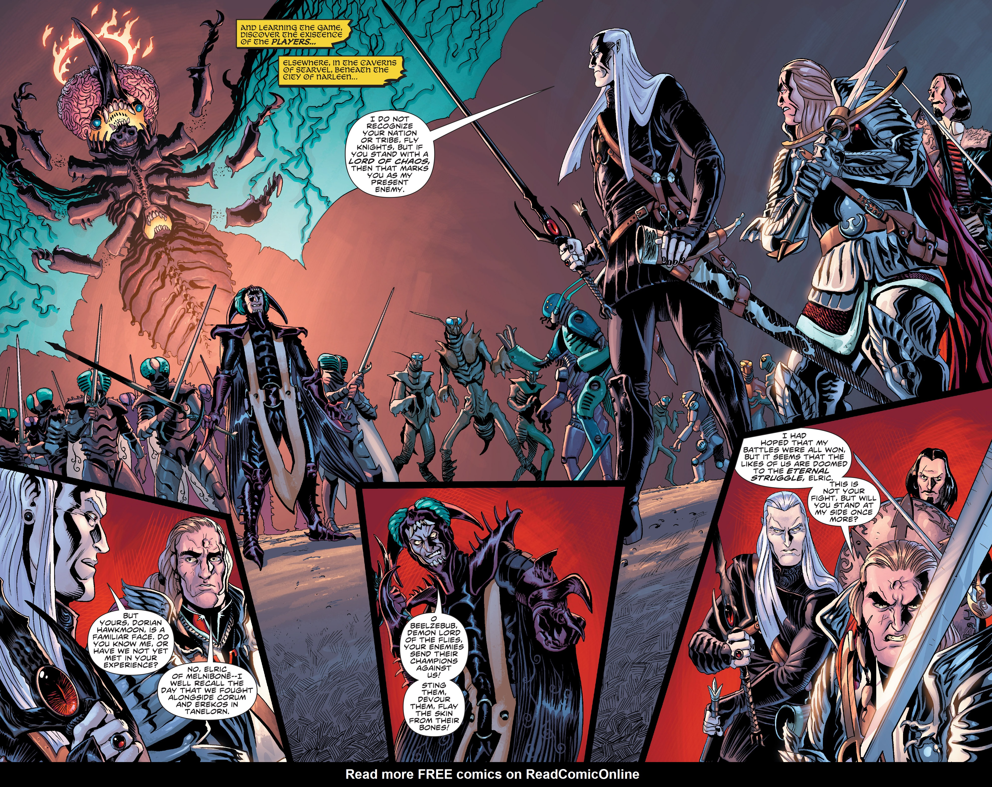 Read online Elric: The Balance Lost comic -  Issue # TPB 2 - 7