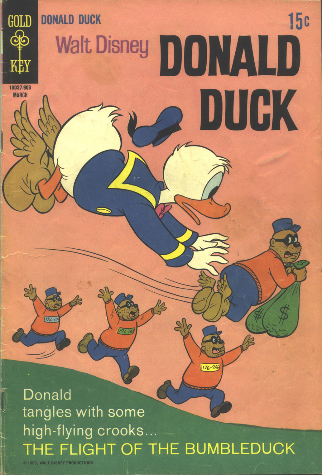Donald Duck (1962) 124 Page 1