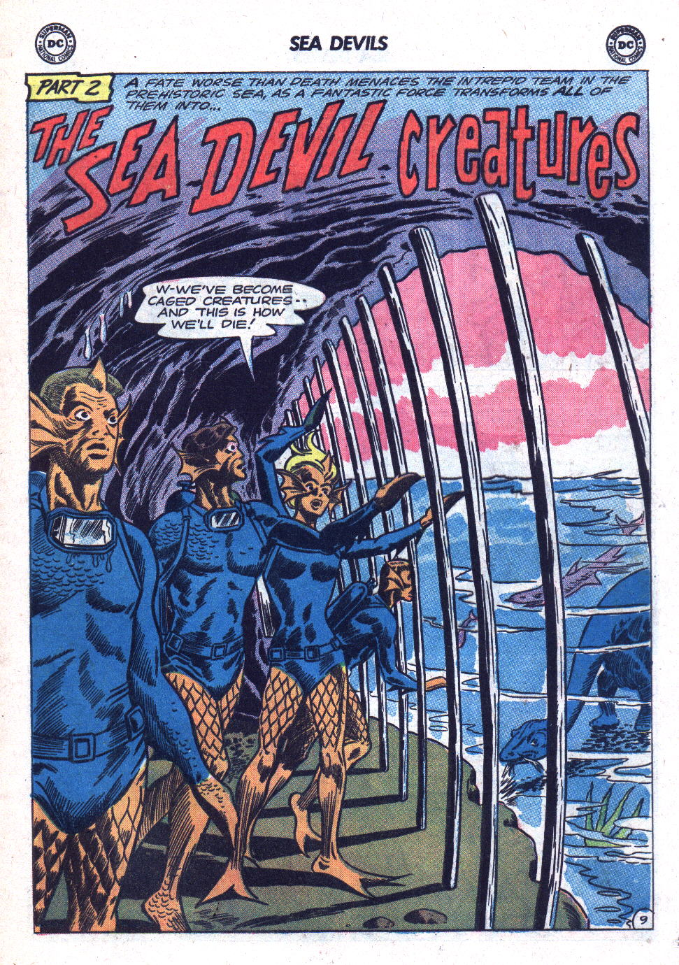 Read online Sea Devils comic -  Issue #18 - 13