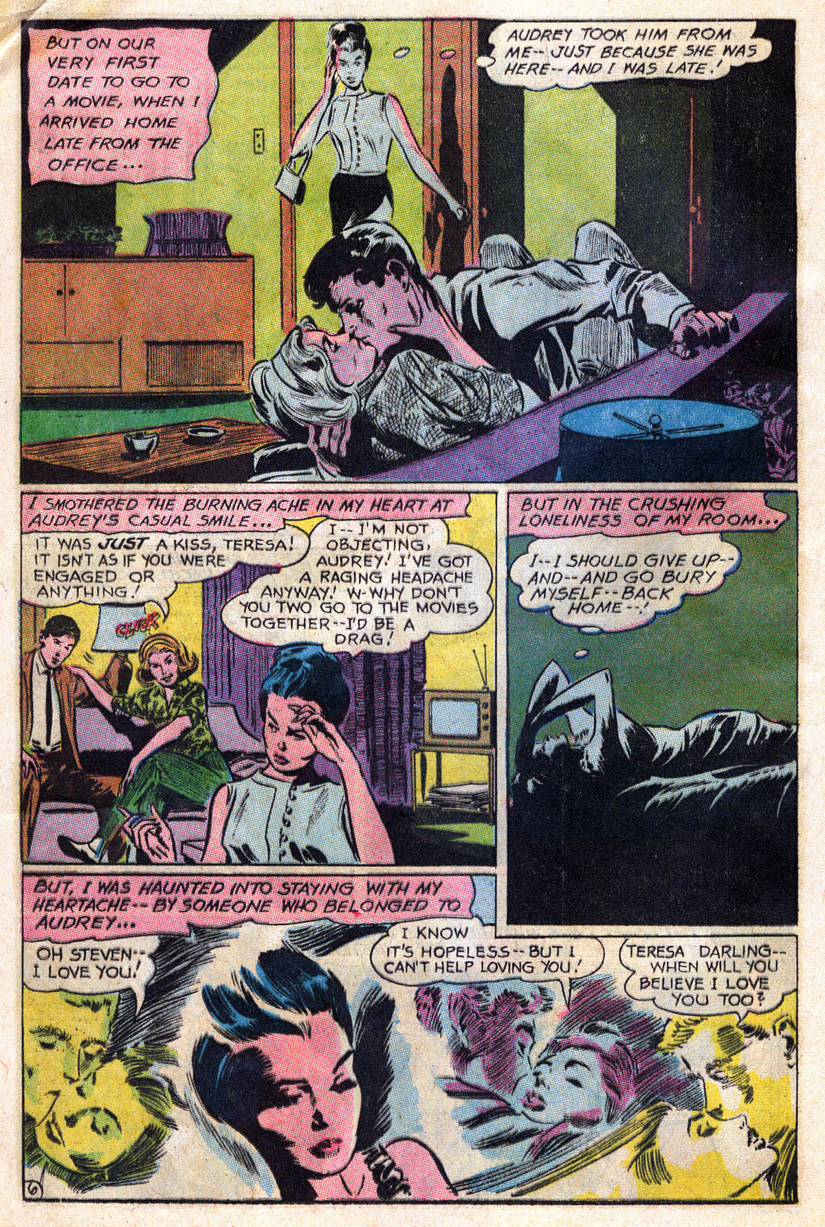 Read online Secret Hearts comic -  Issue #109 - 8