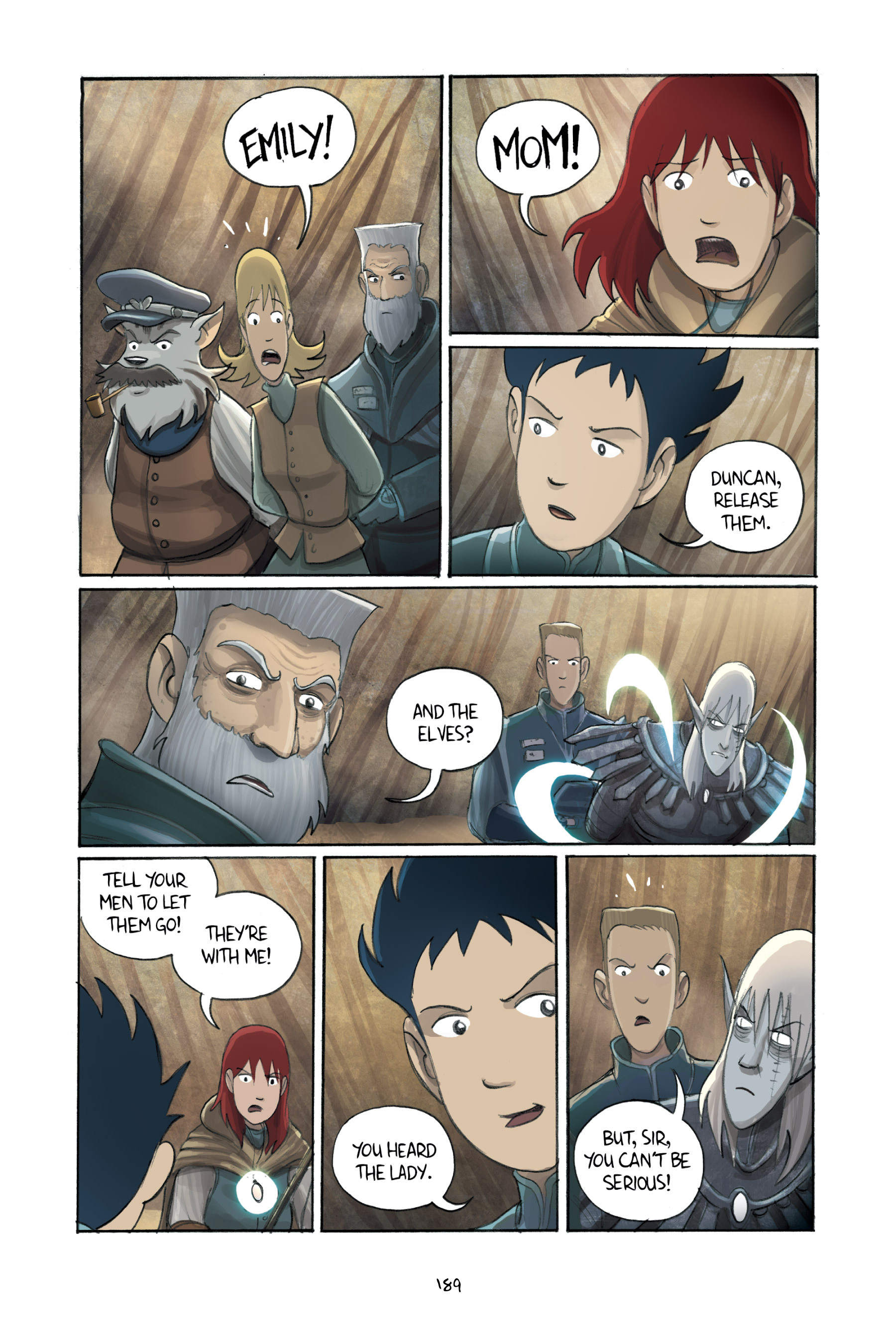 Read online Amulet comic -  Issue #3 - 185