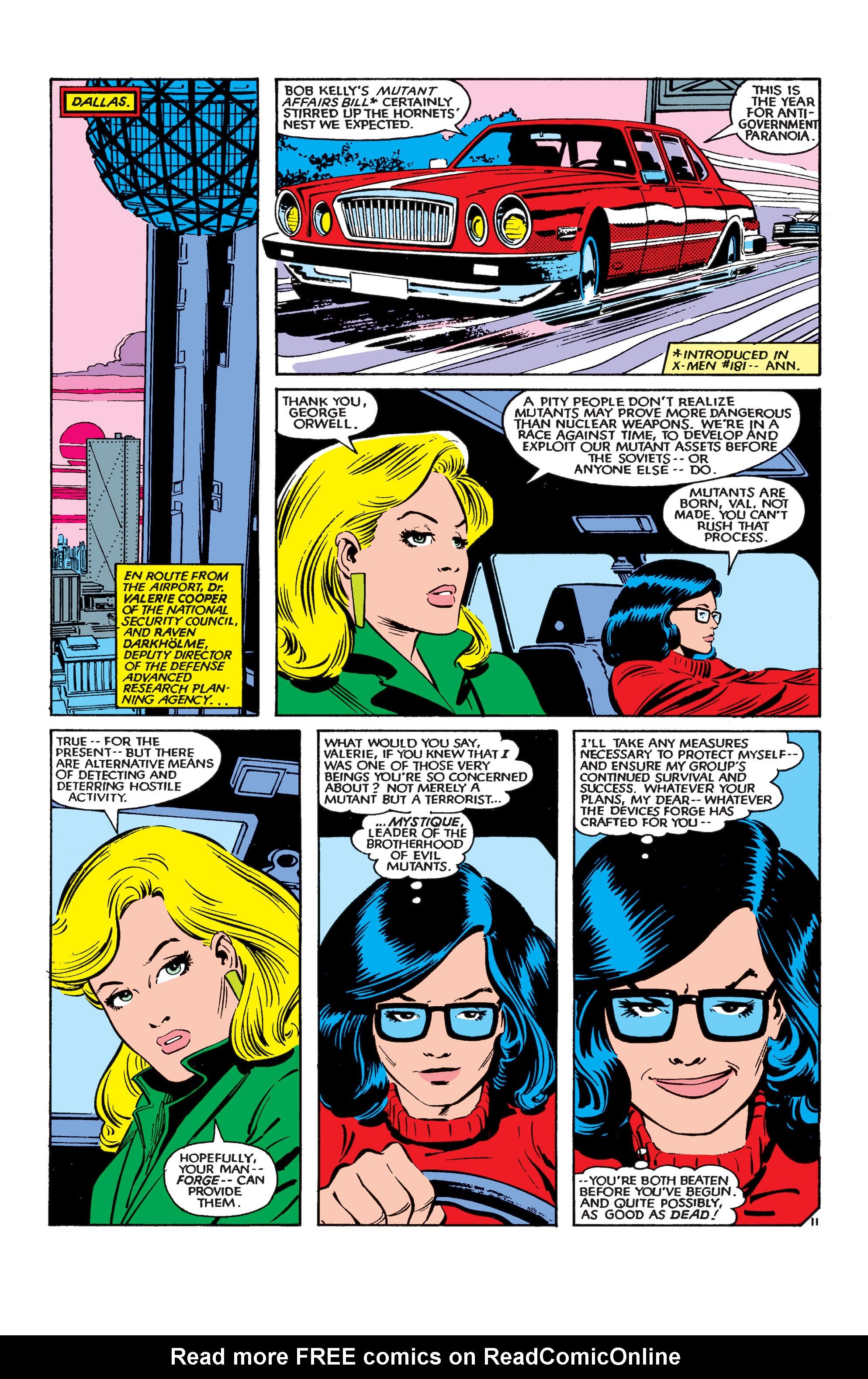 Read online Uncanny X-Men (1963) comic -  Issue #183 - 12