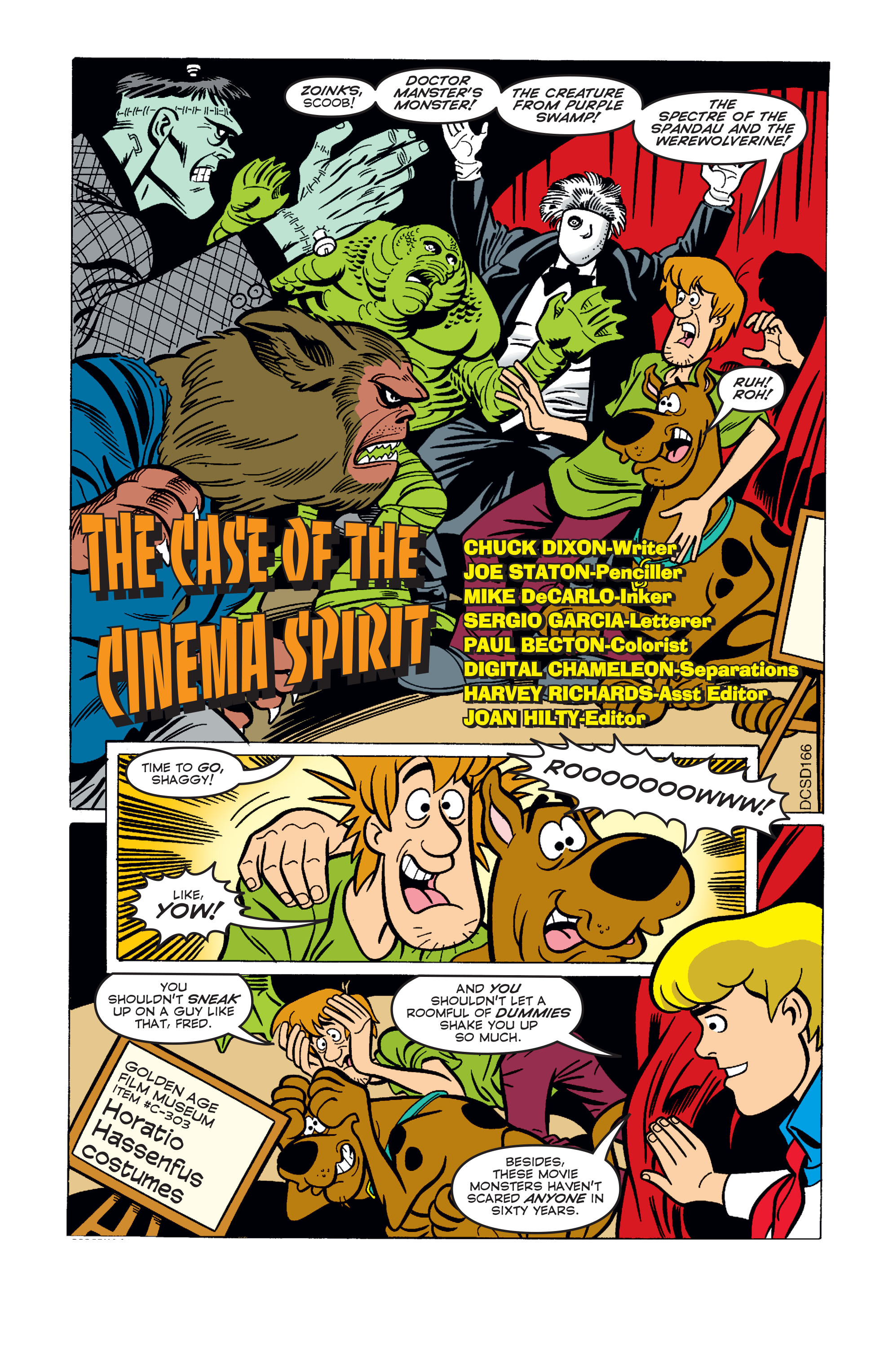 Read online Scooby-Doo (1997) comic -  Issue #56 - 2