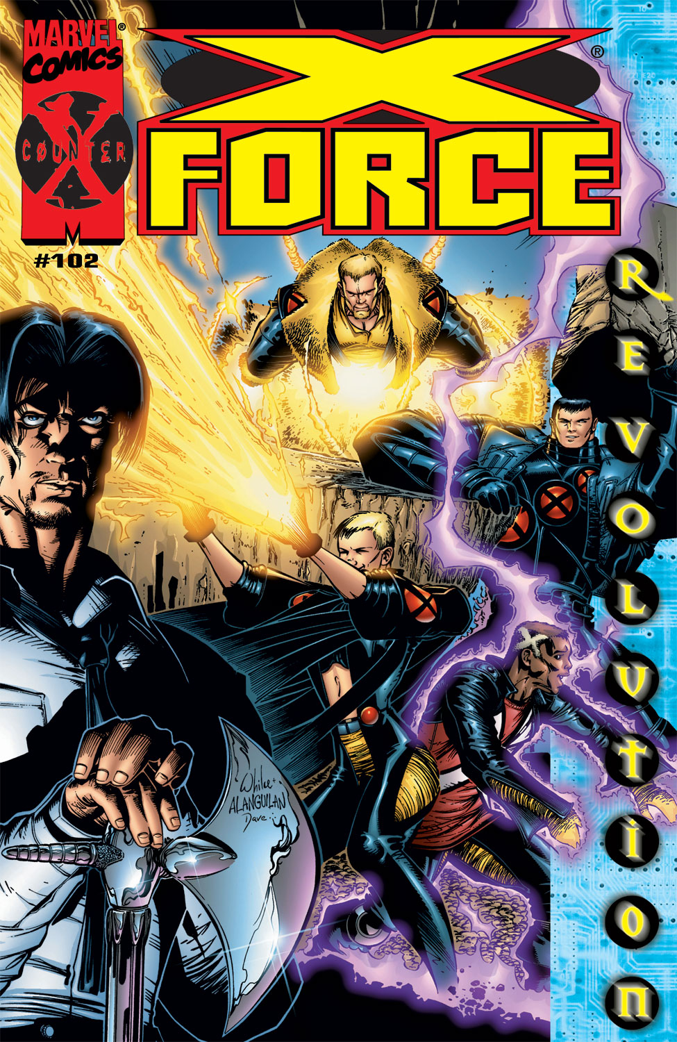 Read online X-Force (1991) comic -  Issue #102 - 1