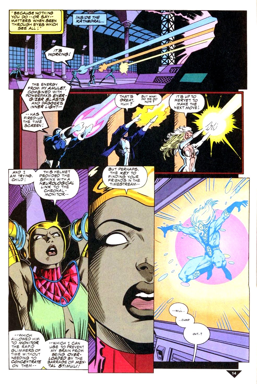 The New Warriors Issue #50 #54 - English 11