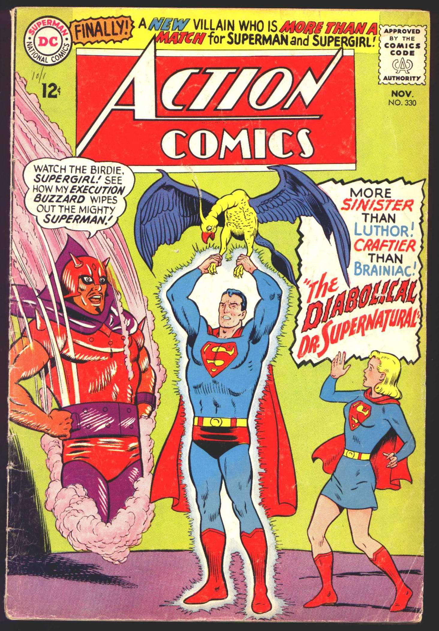 Read online Action Comics (1938) comic -  Issue #330 - 1