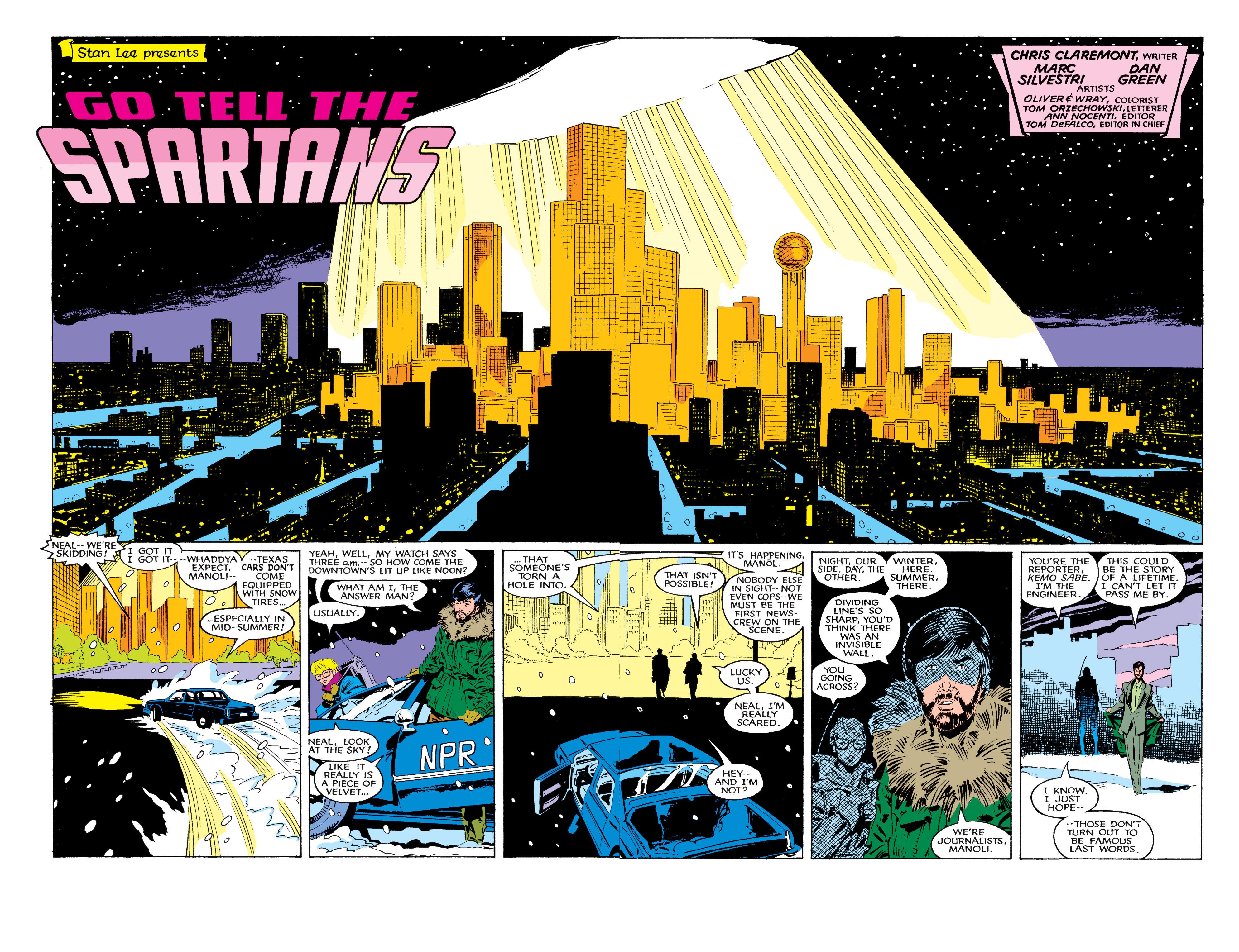 Read online Uncanny X-Men (1963) comic -  Issue #226 - 5