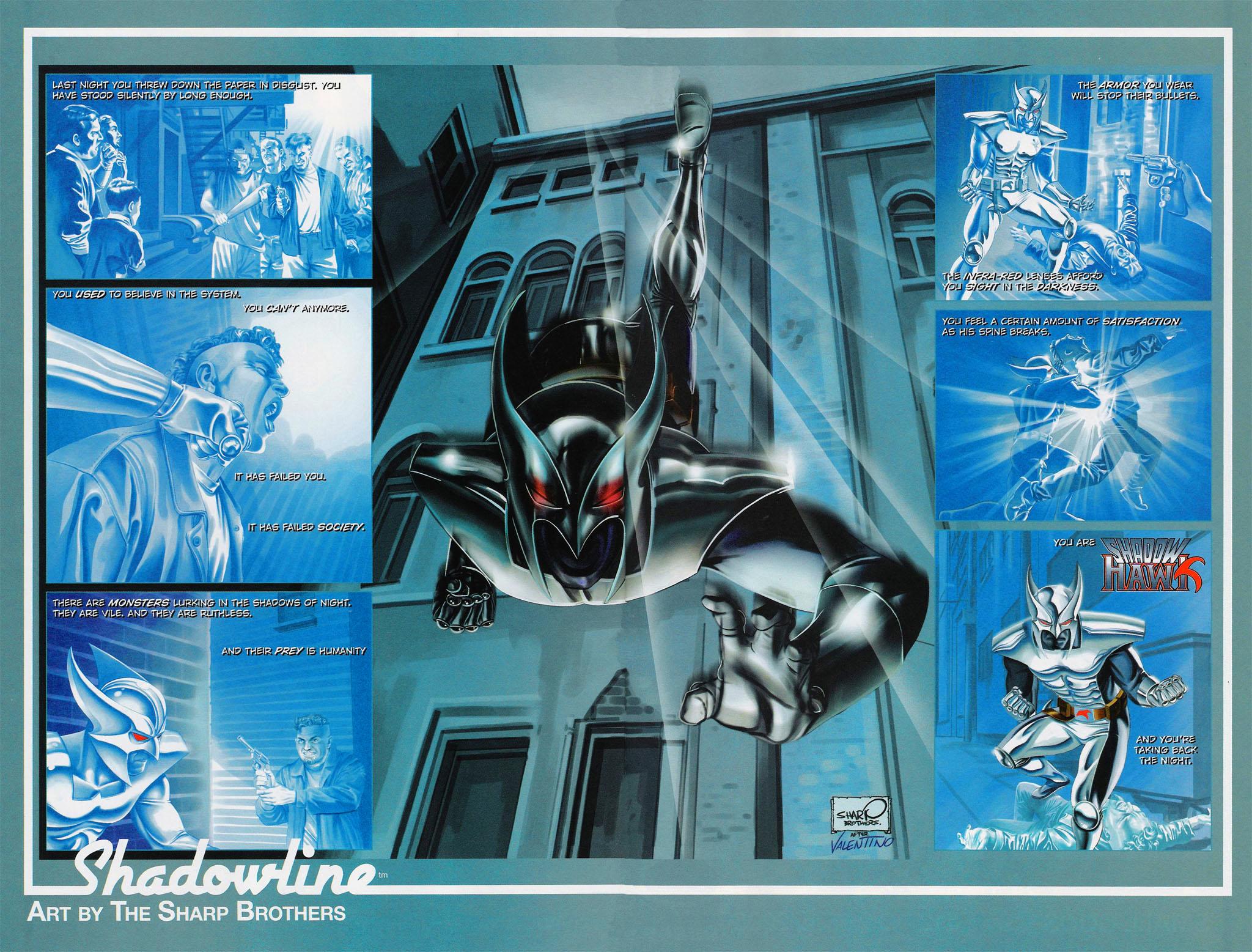 Read online ShadowHawk (2005) comic -  Issue #4 - 25