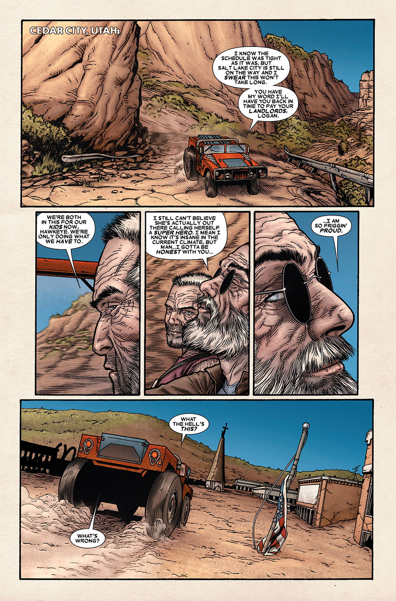 Read online Wolverine: Old Man Logan comic -  Issue # Full - 54