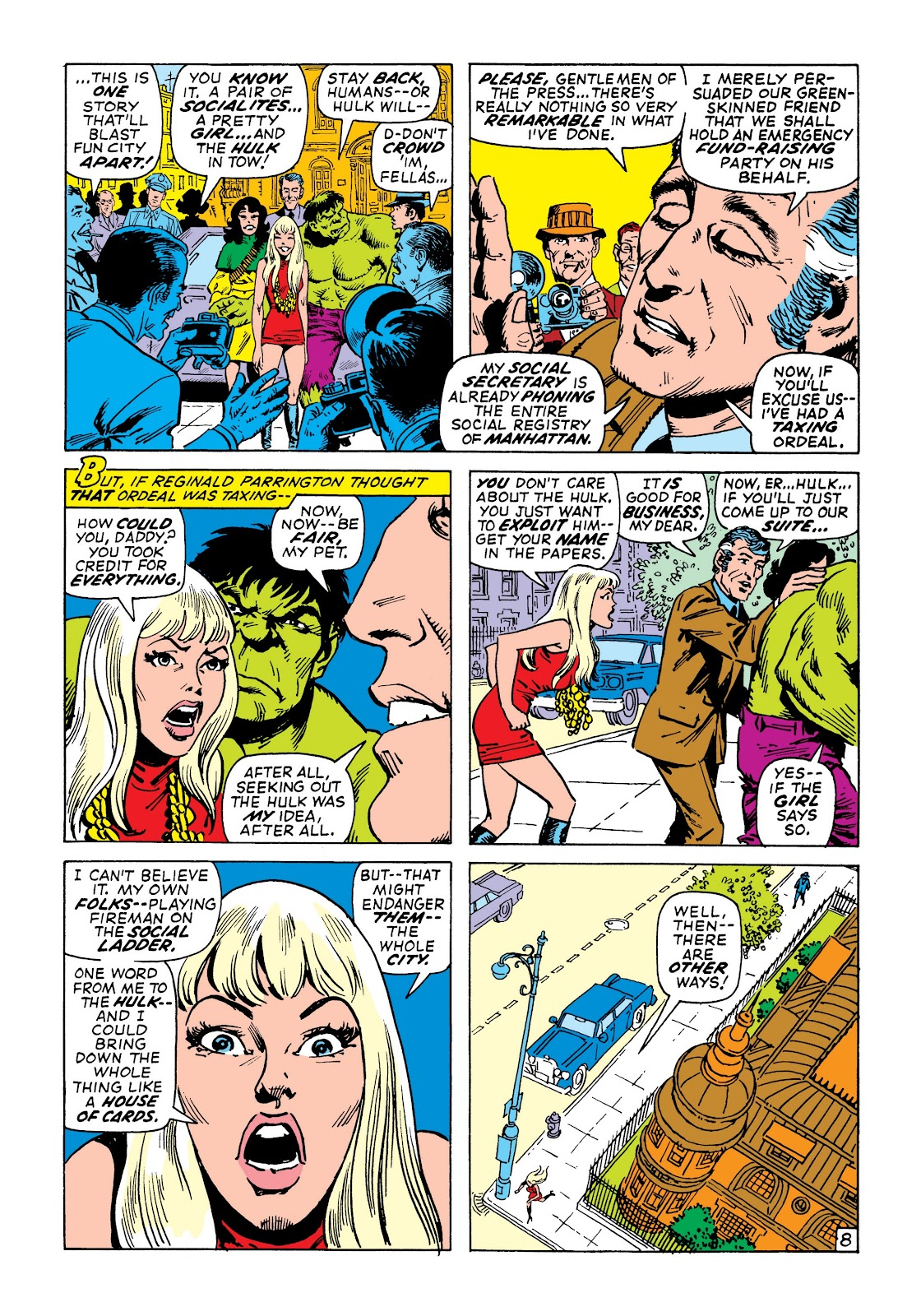 Read online Marvel Masterworks: The Incredible Hulk comic -  Issue # TPB 7 (Part 2) - 75