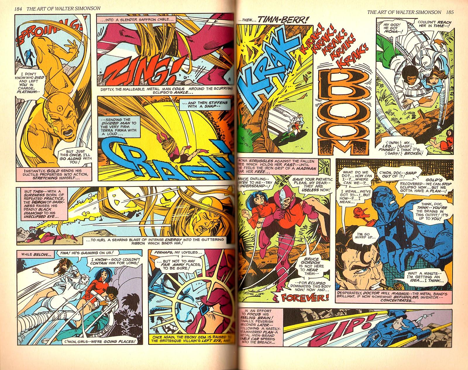 Read online The Art of Walter Simonson comic -  Issue # TPB - 94