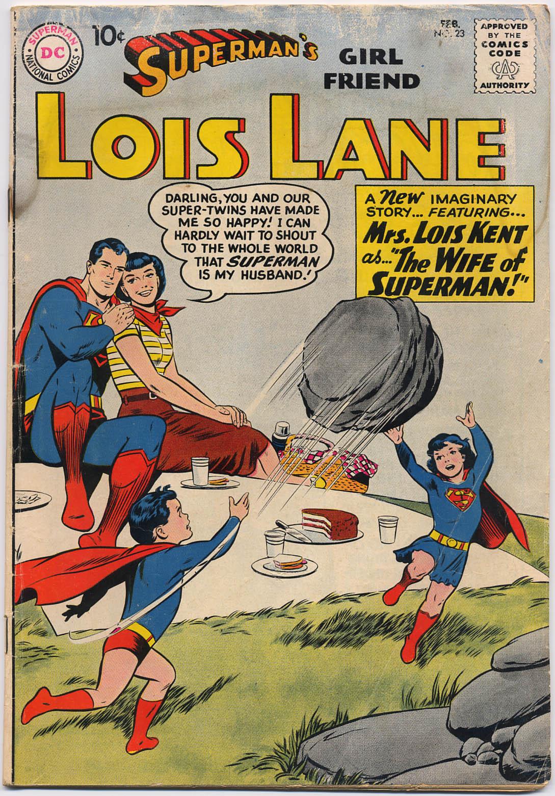 Supermans Girl Friend, Lois Lane 23 Page 1