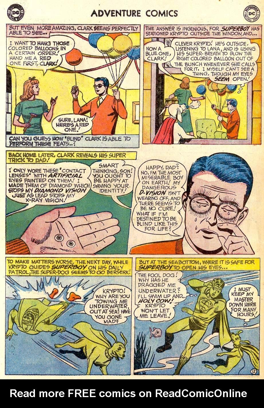 Read online Adventure Comics (1938) comic -  Issue #259 - 14
