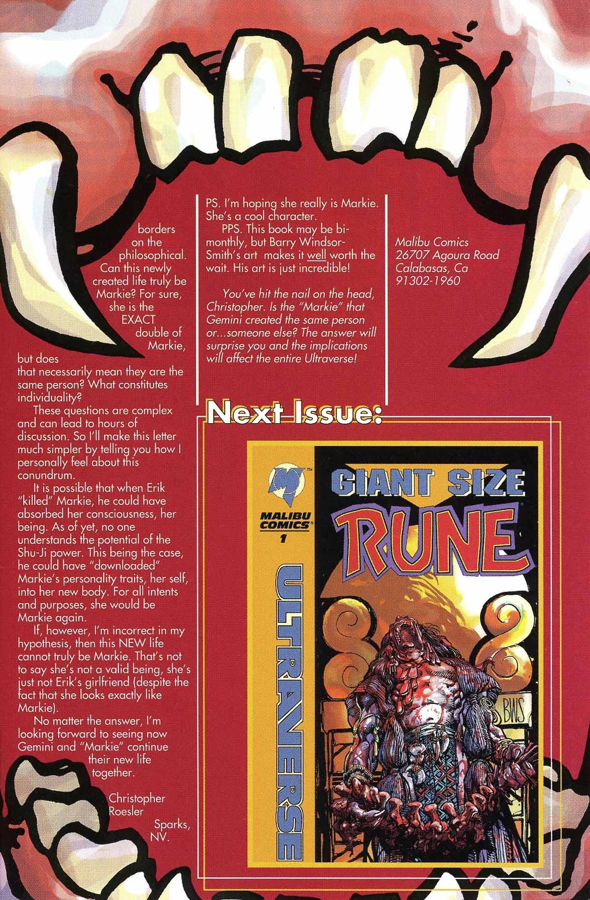Read online Rune (1994) comic -  Issue #6 - 31