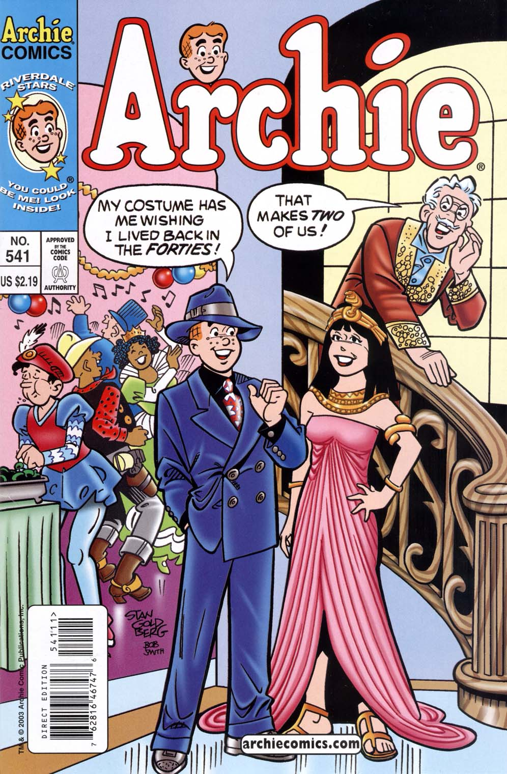 Read online Archie (1960) comic -  Issue #541 - 1