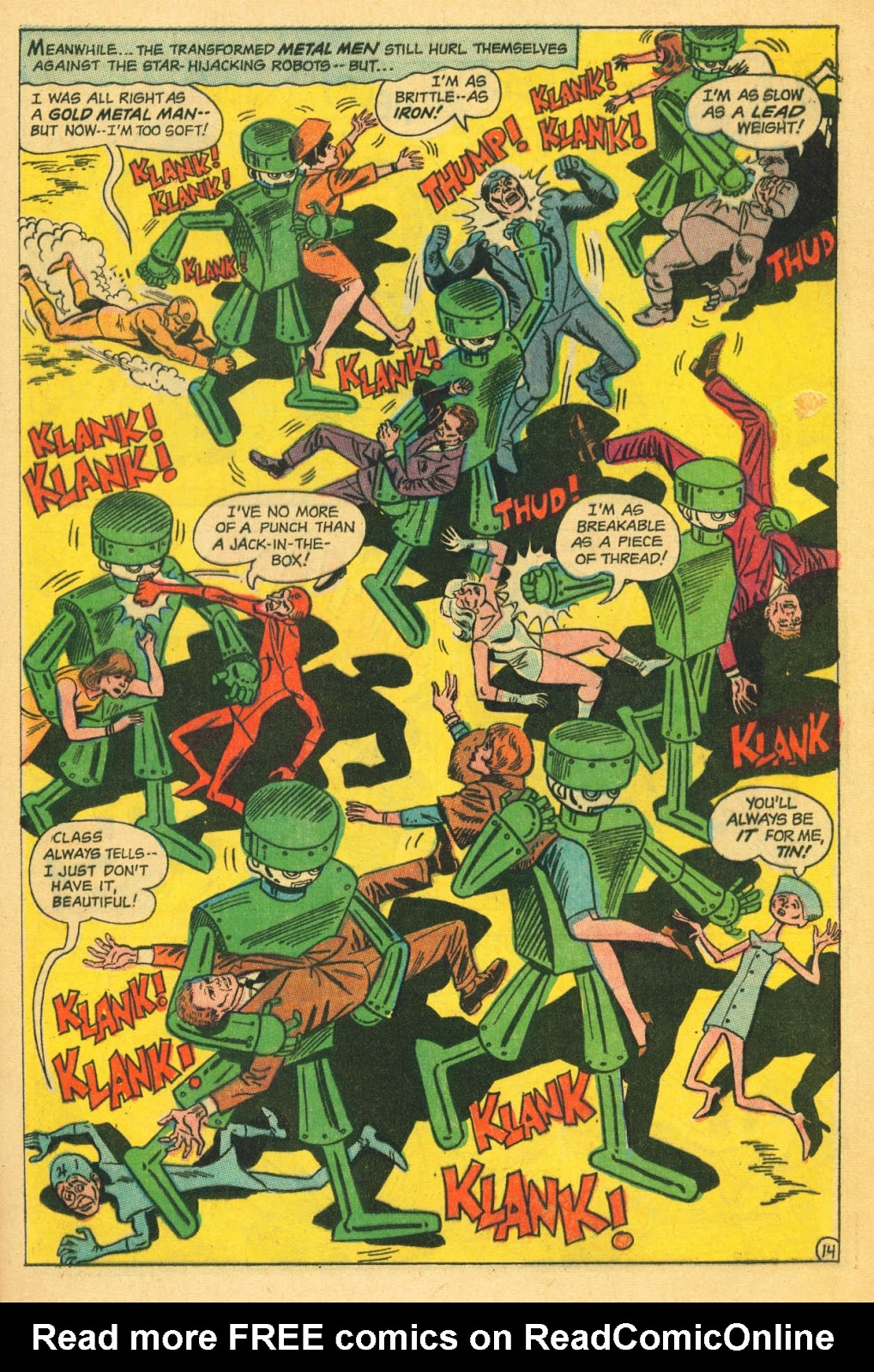 Metal Men (1963) issue 22 - Page 21