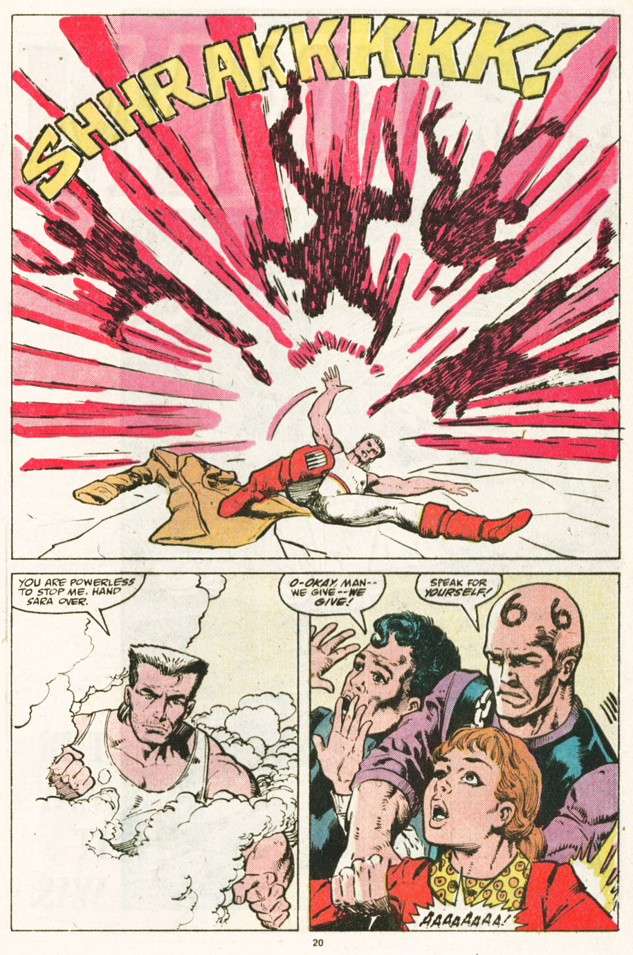 Read online Justice (1986) comic -  Issue #6 - 21